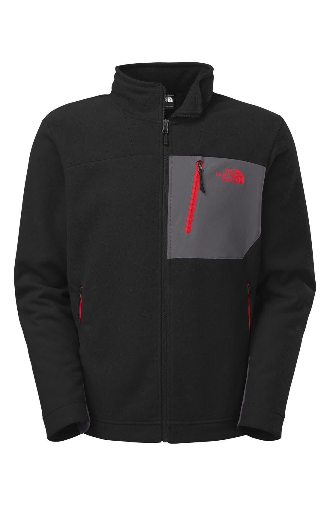 'Chimborazo' Zip Front Fleece Jacket,                             Alternate thumbnail 20, color,