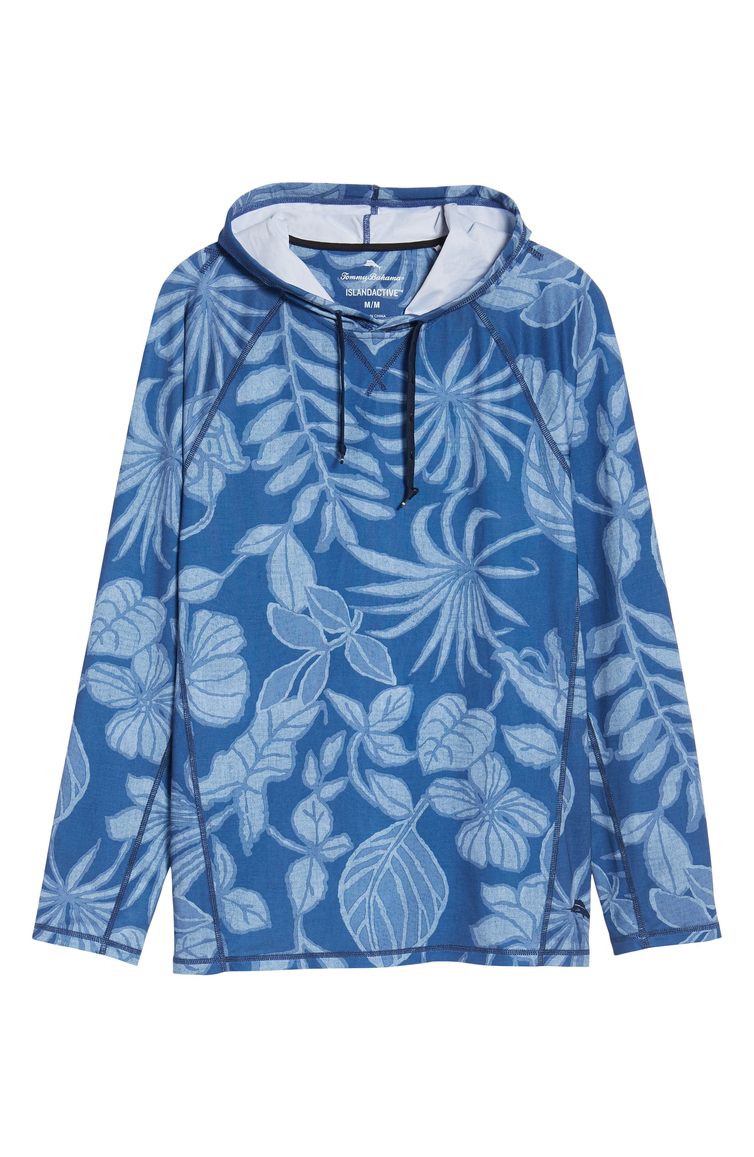 Playa Mambo Tech Hoodie,                             Alternate thumbnail 6, color,                             ATLANTIC