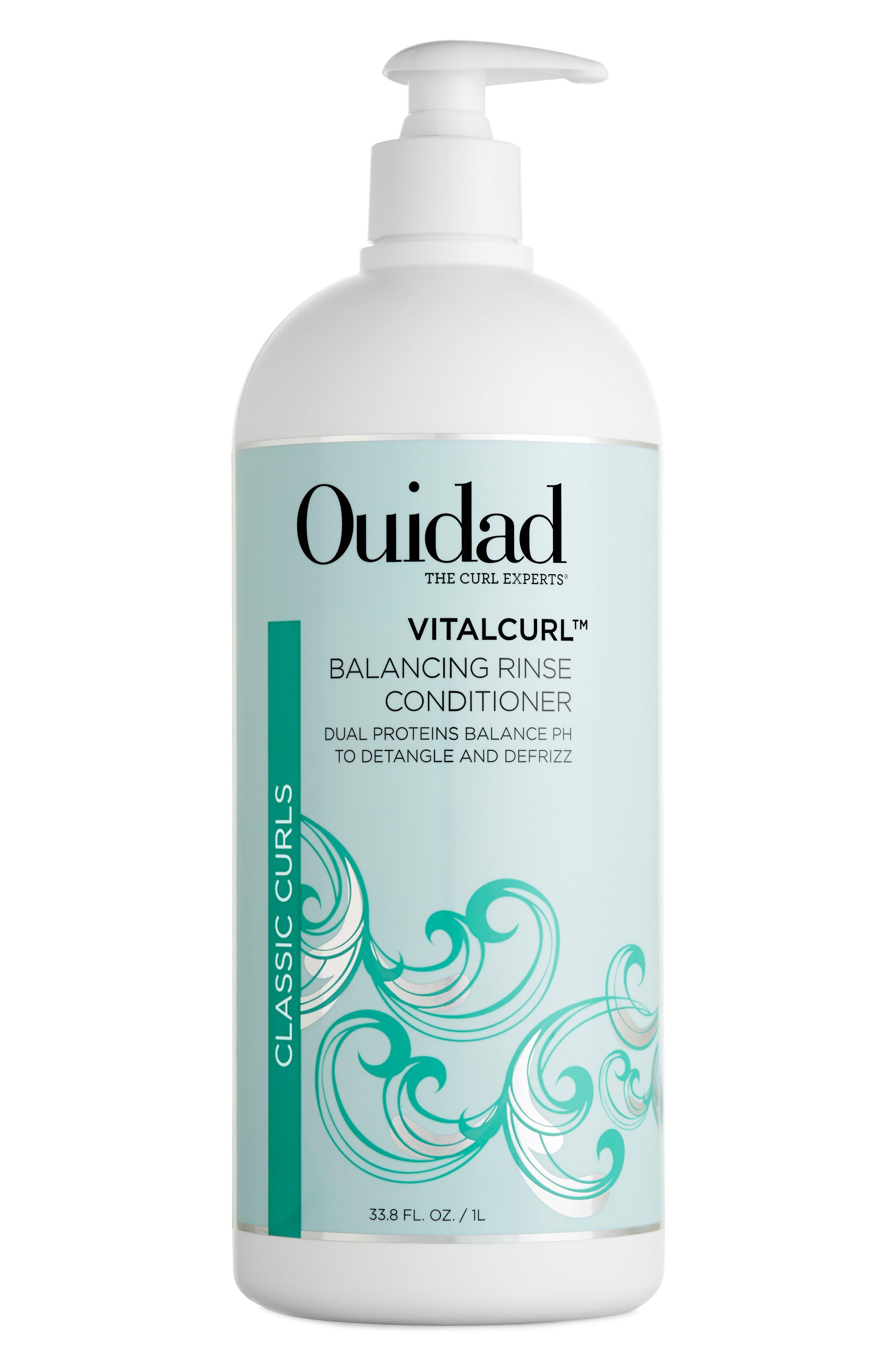 Vitalcurl<sup>™</sup> Balancing Rinse Conditioner,                             Main thumbnail 1, color,                             000