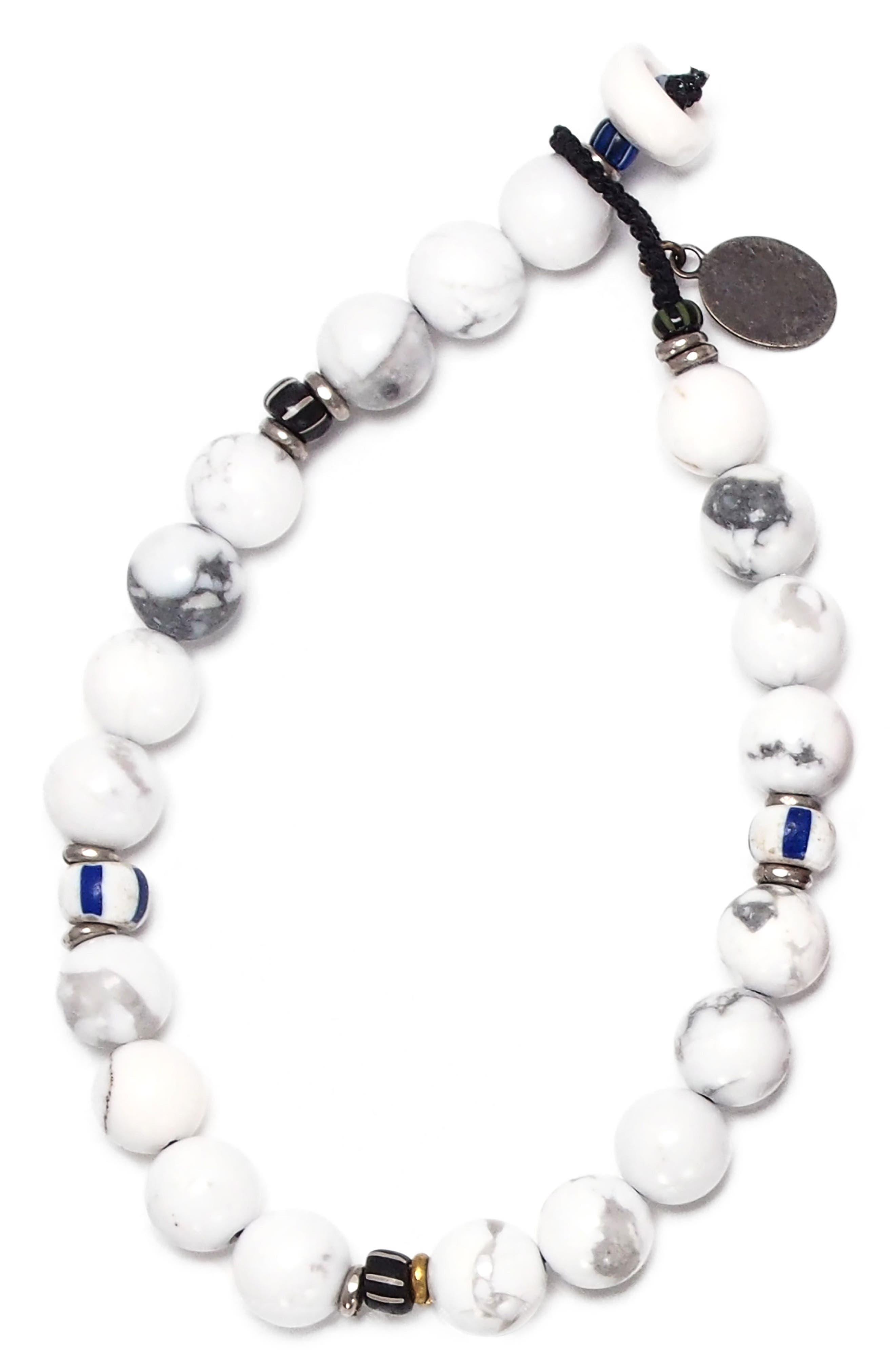 Stone Bead Bracelet,                             Main thumbnail 1, color,                             101