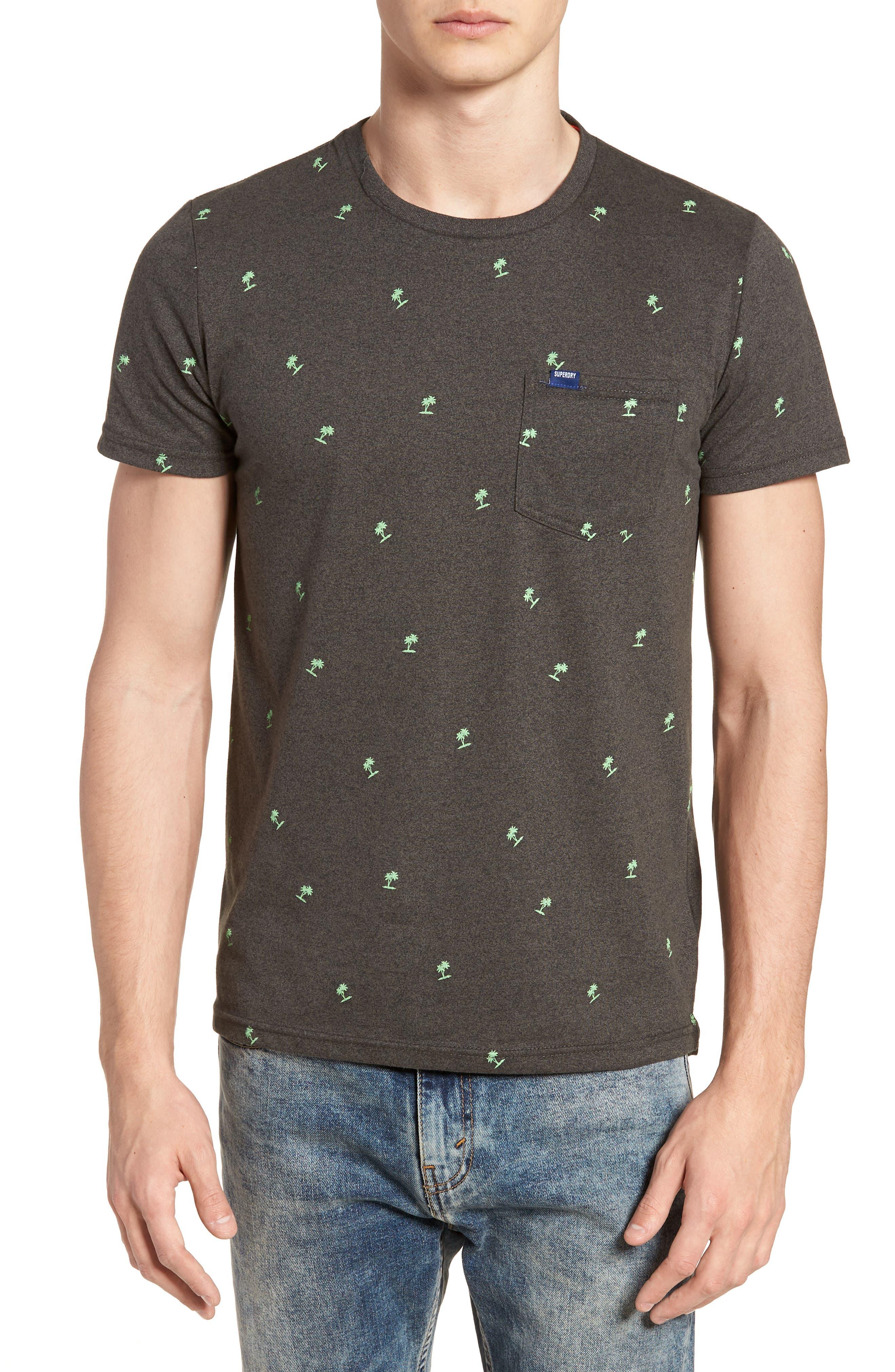 Allover Print Lite Pocket T-Shirt,                         Main,                         color, 020