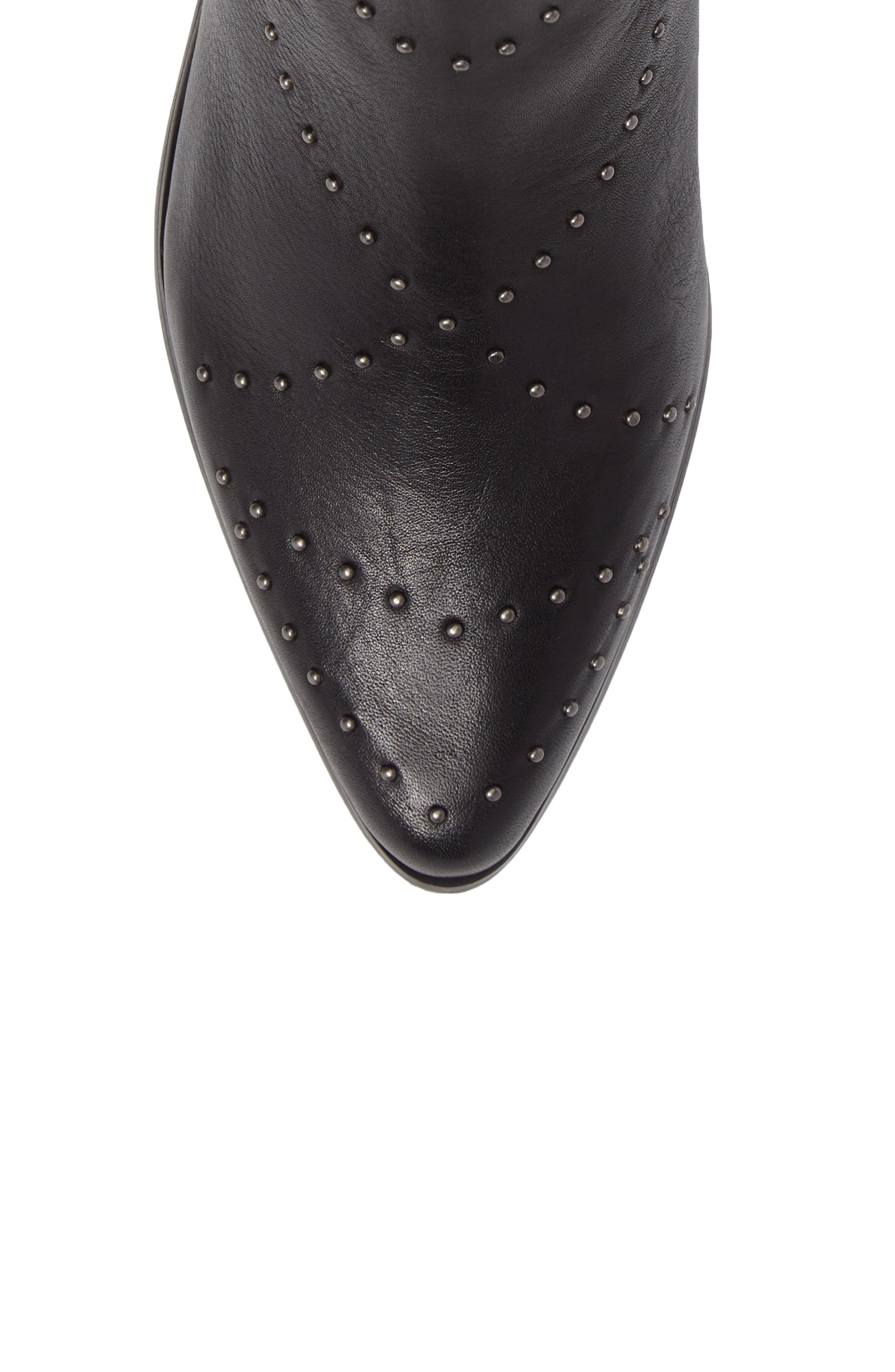 Wendy Studded Bootie,                             Alternate thumbnail 5, color,                             001