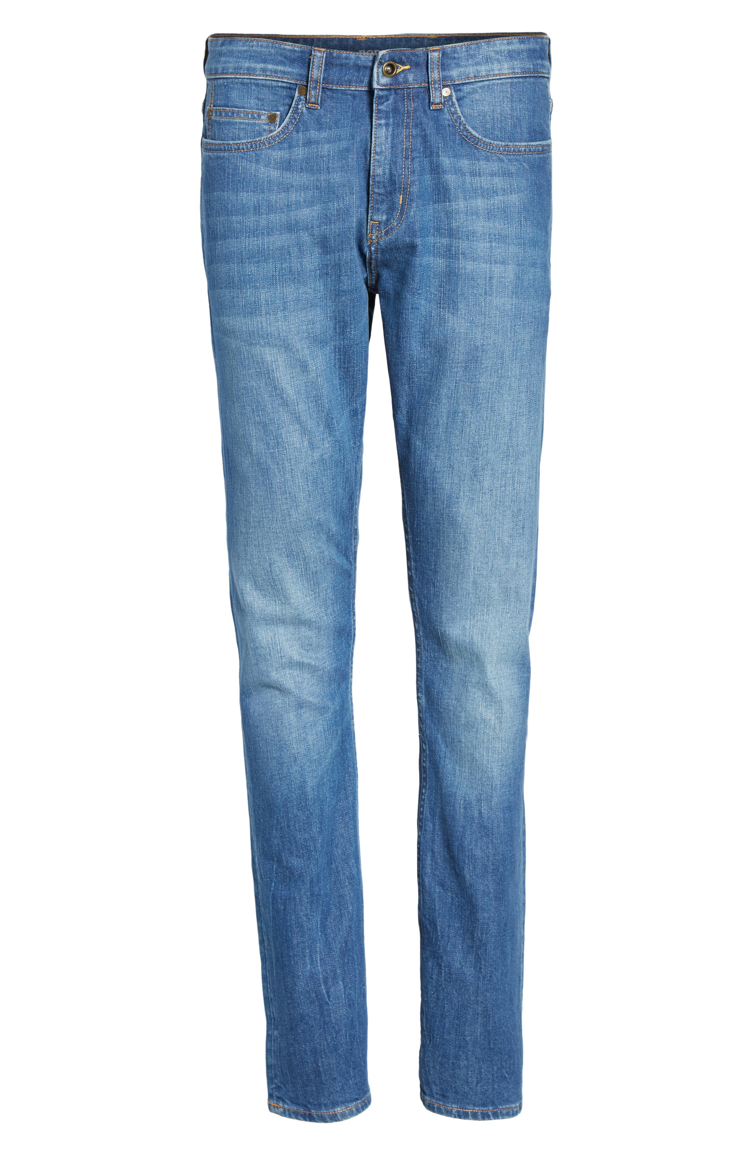 Cranfield Straight Leg Jeans,                             Alternate thumbnail 6, color,                             420