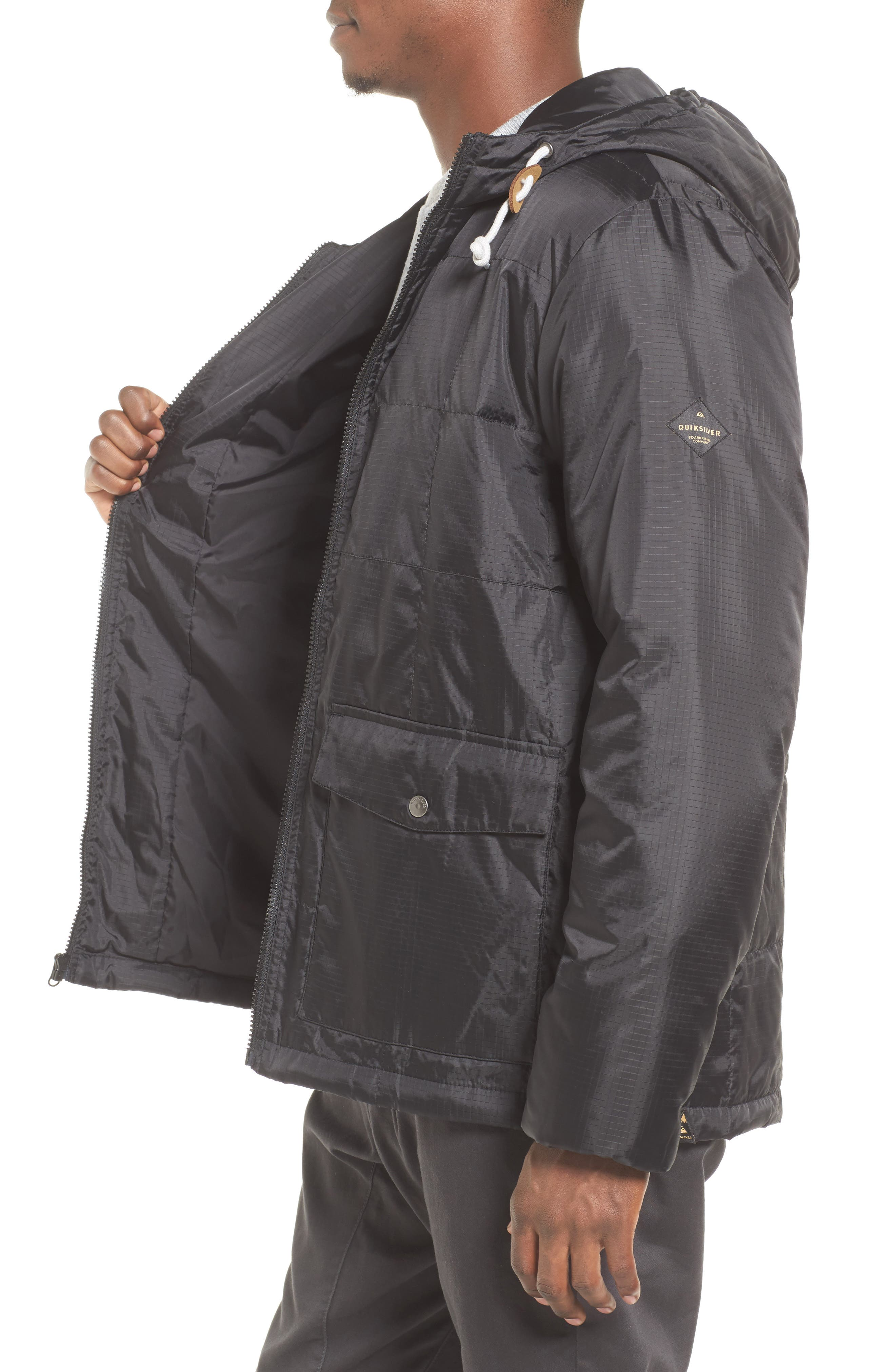Puffer Water-Repellent Jacket,                             Alternate thumbnail 3, color,                             002