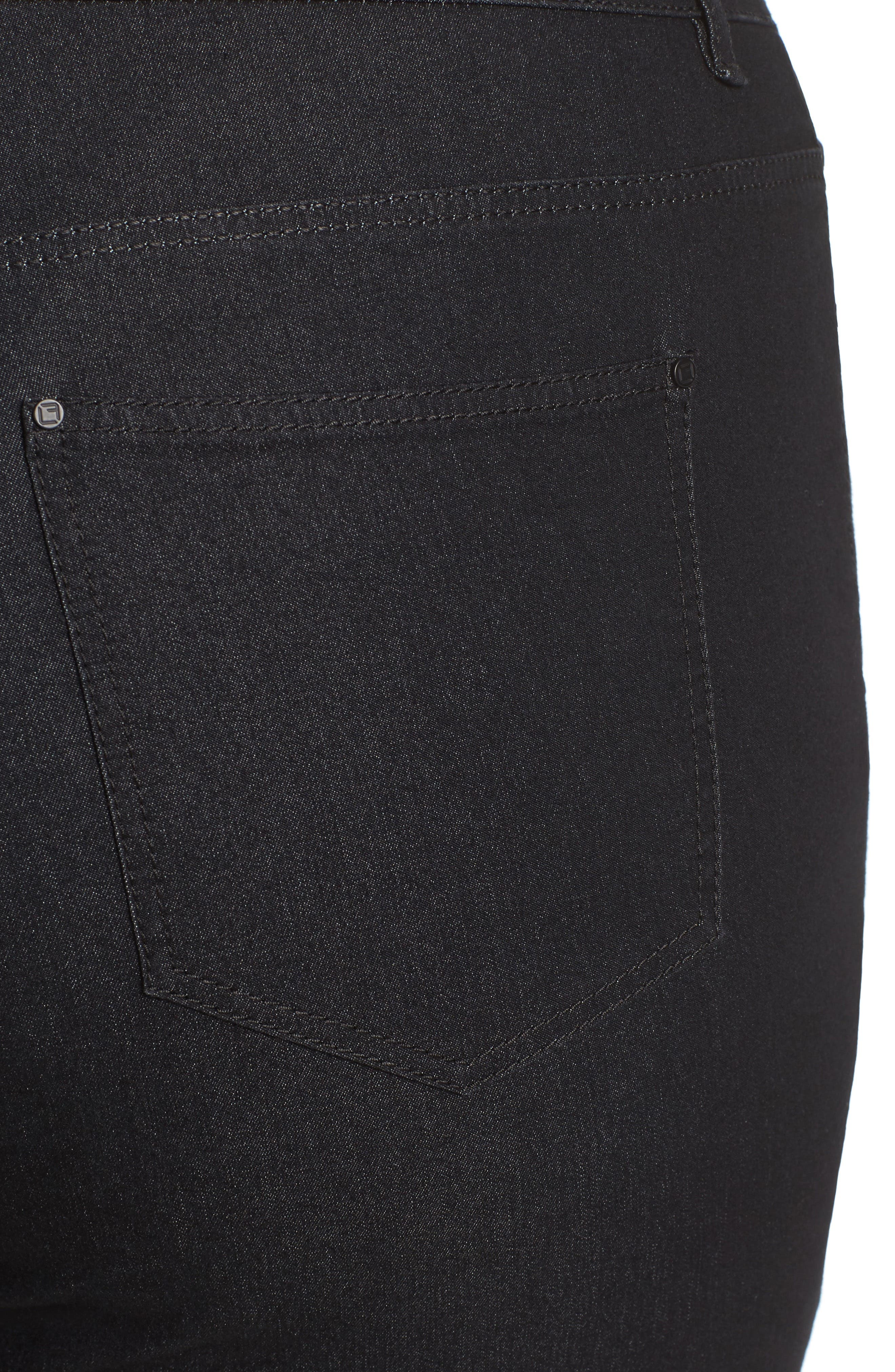 Thompson Stretch Bootcut Jeans,                             Alternate thumbnail 4, color,                             001