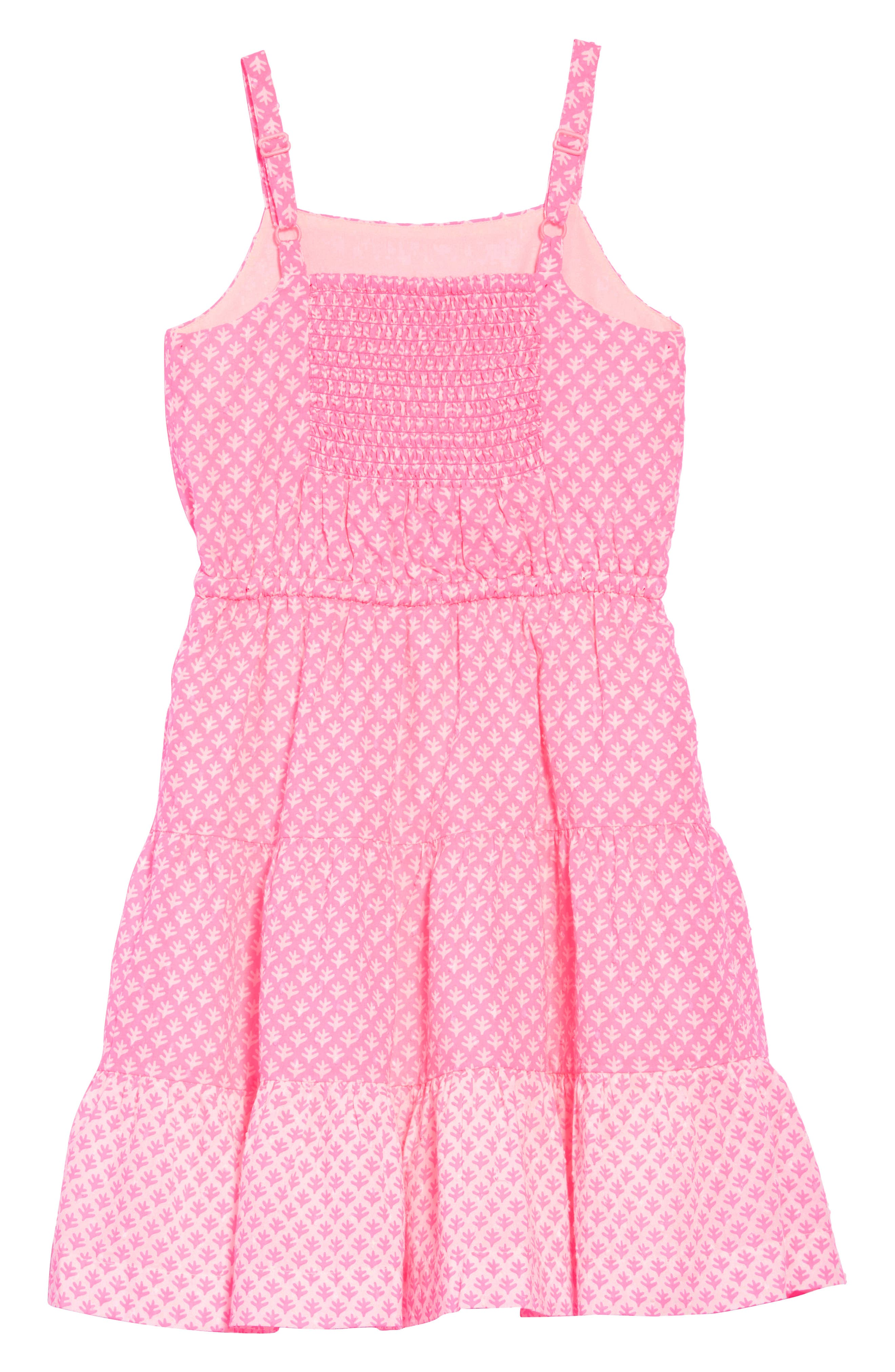 Tiered Strappy Woven Dress,                             Alternate thumbnail 2, color,                             664