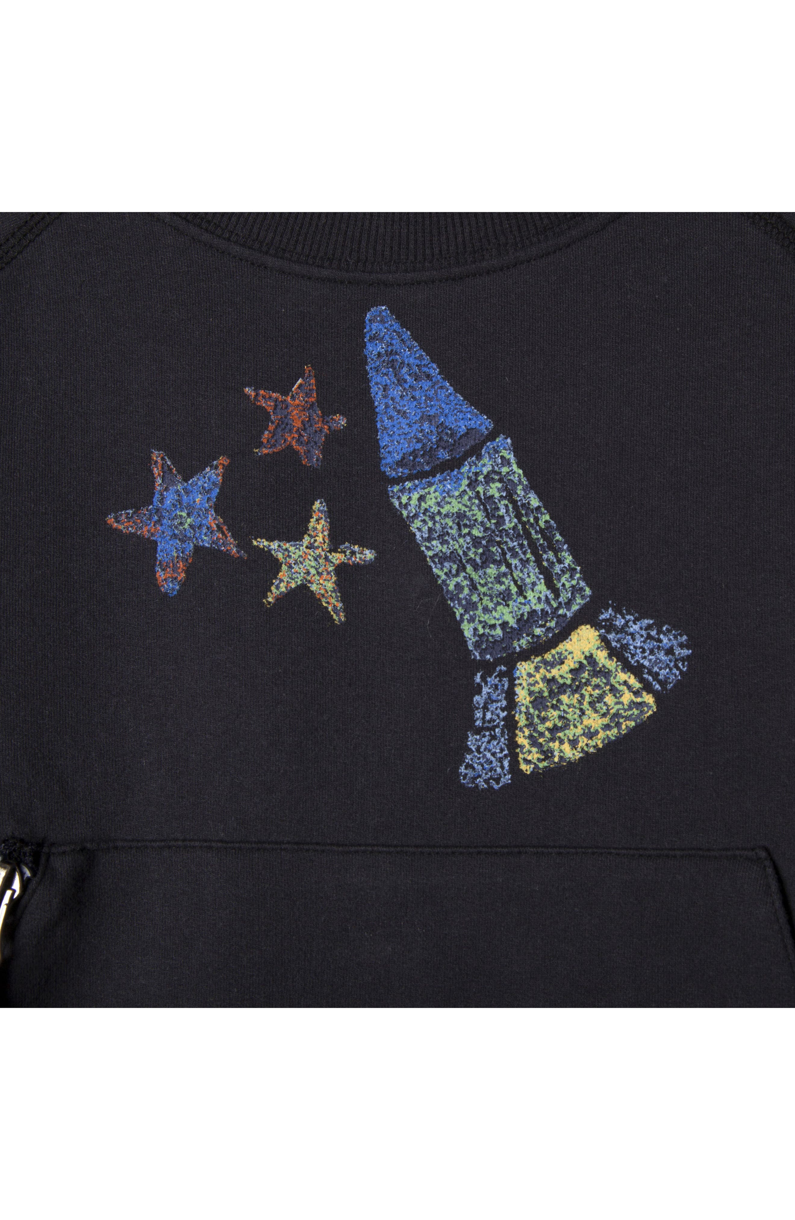 Jaxon Organic Cotton Sweatshirt,                             Alternate thumbnail 2, color,                             414