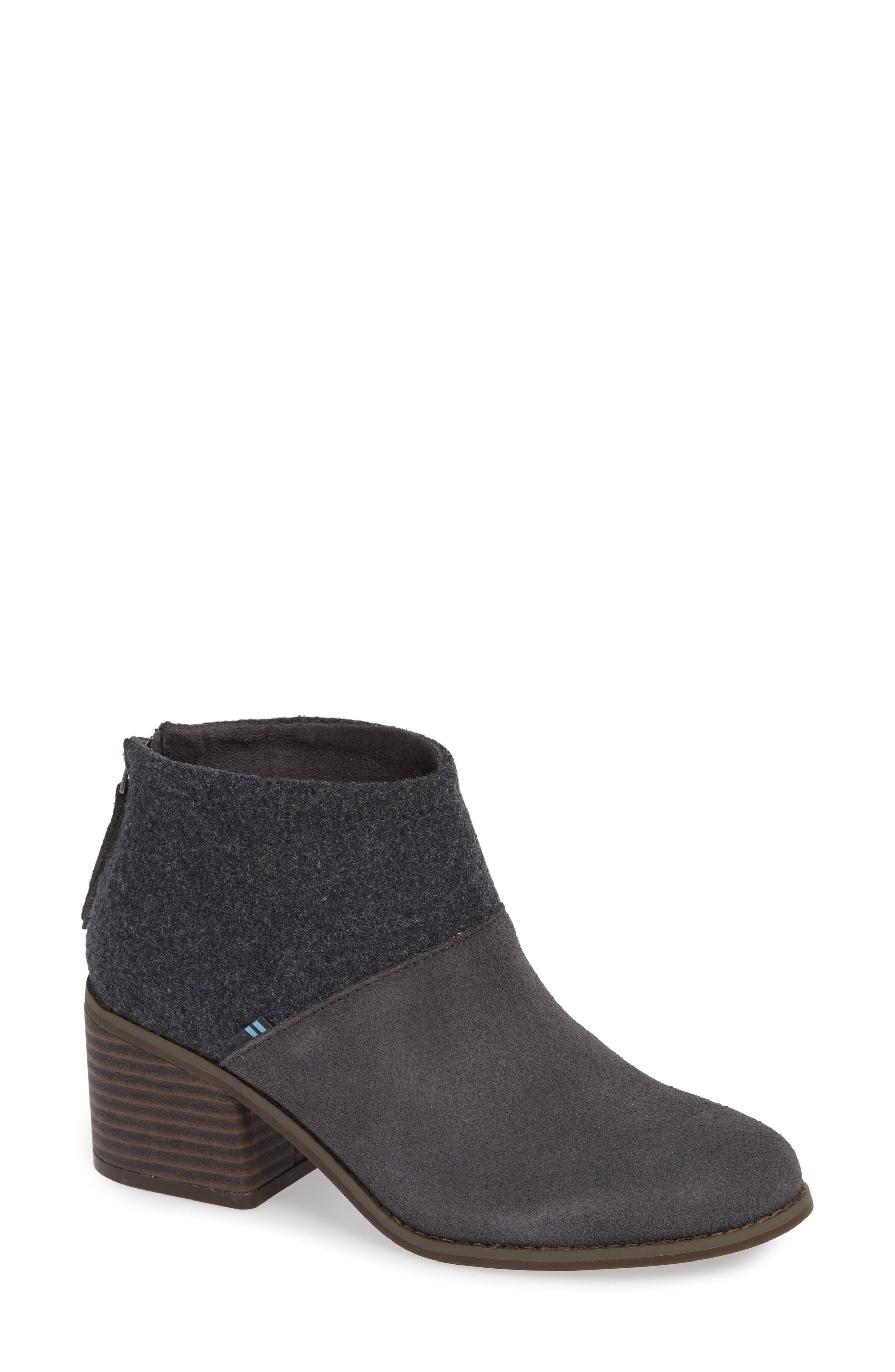 Toms Lacy Bootie, Grey