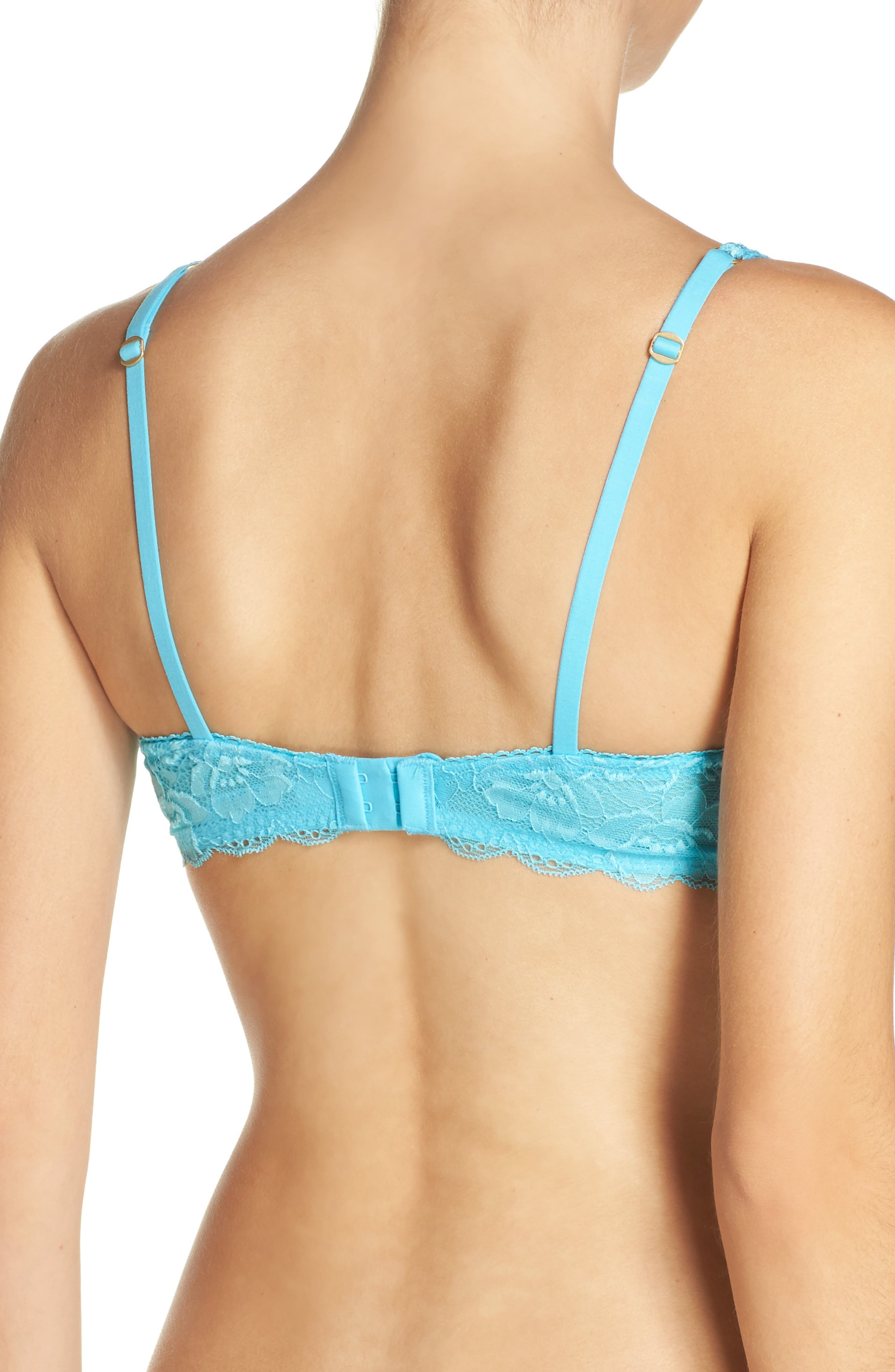 Skinz Underwire Push-Up Bra,                             Alternate thumbnail 15, color,