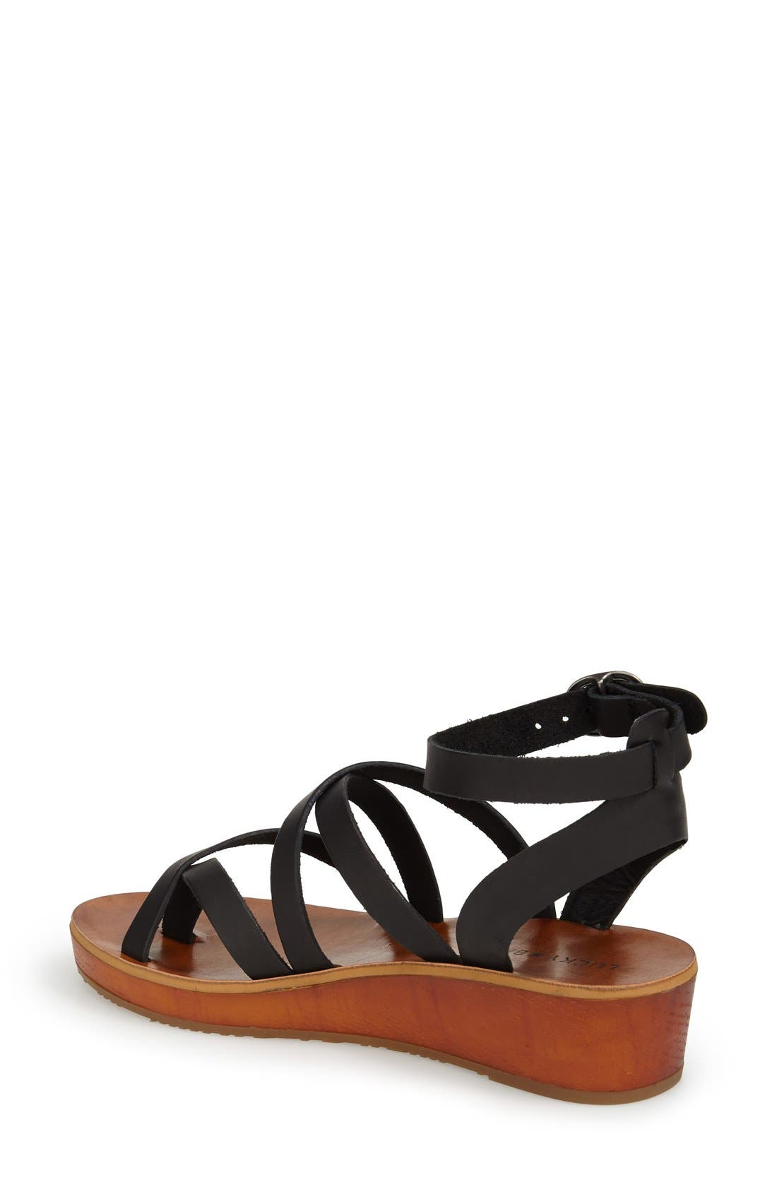 'Honeyy' Platform Sandal,                             Alternate thumbnail 6, color,