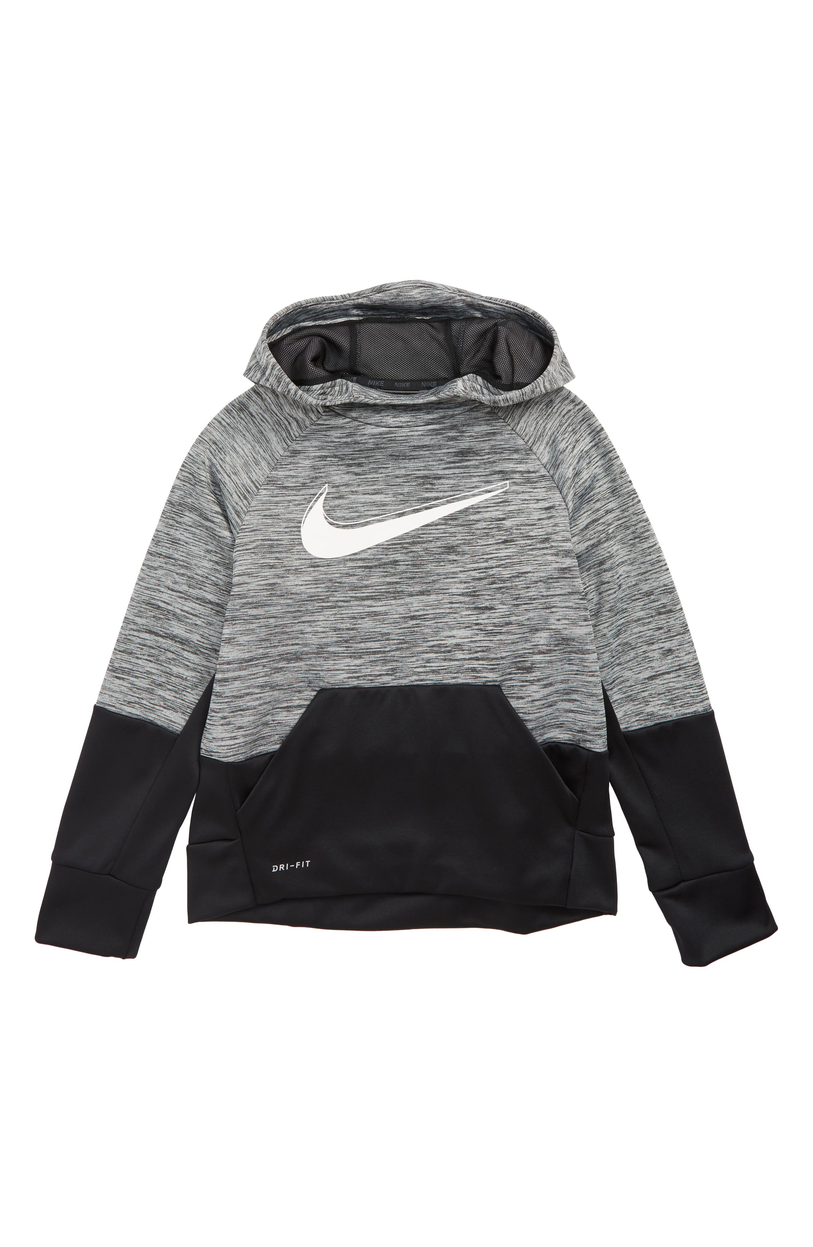 Boys Nike Dry Therma Hoodie Size XL (16)  Blue