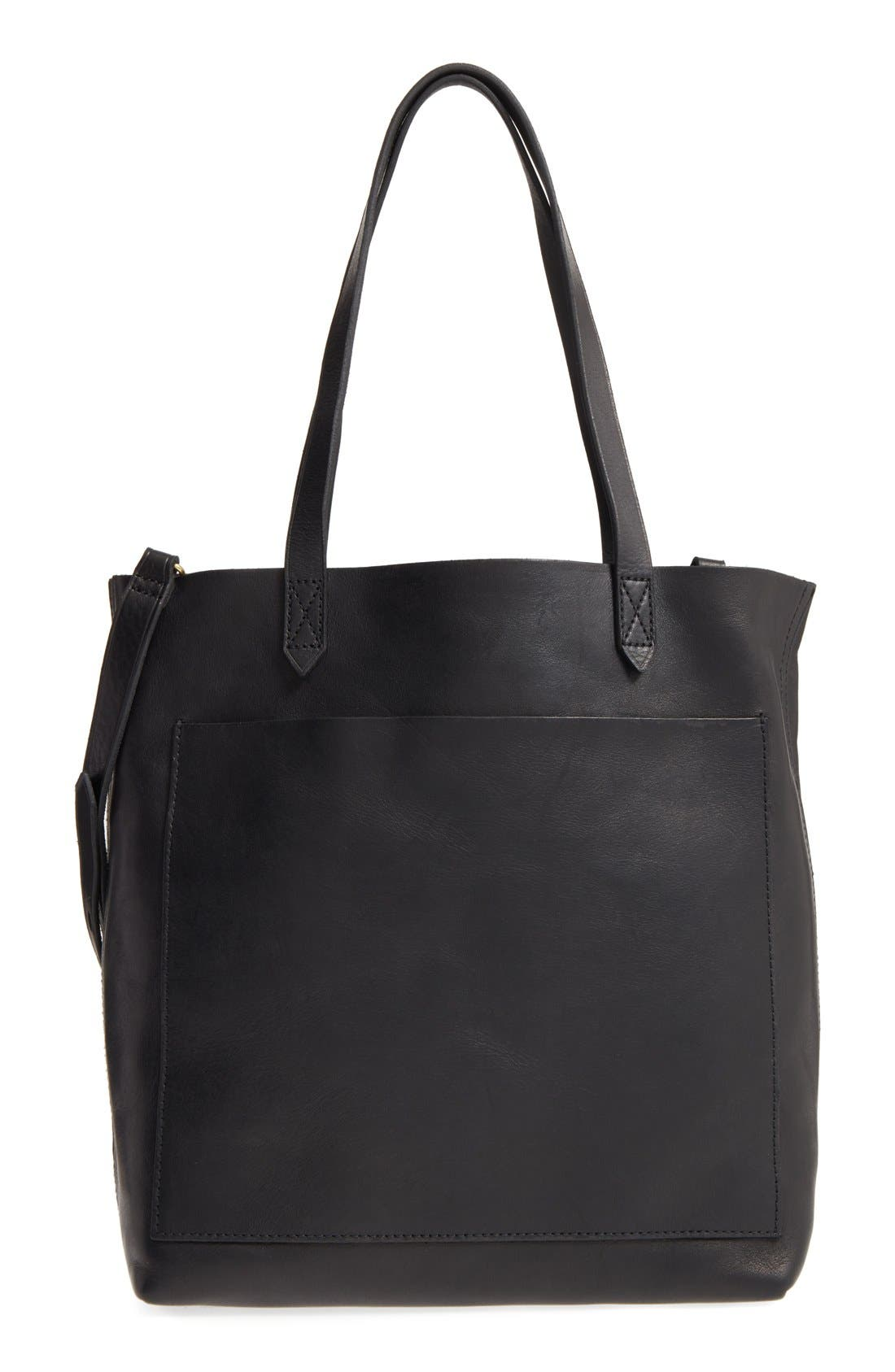 Medium Leather Transport Tote,                             Main thumbnail 13, color,
