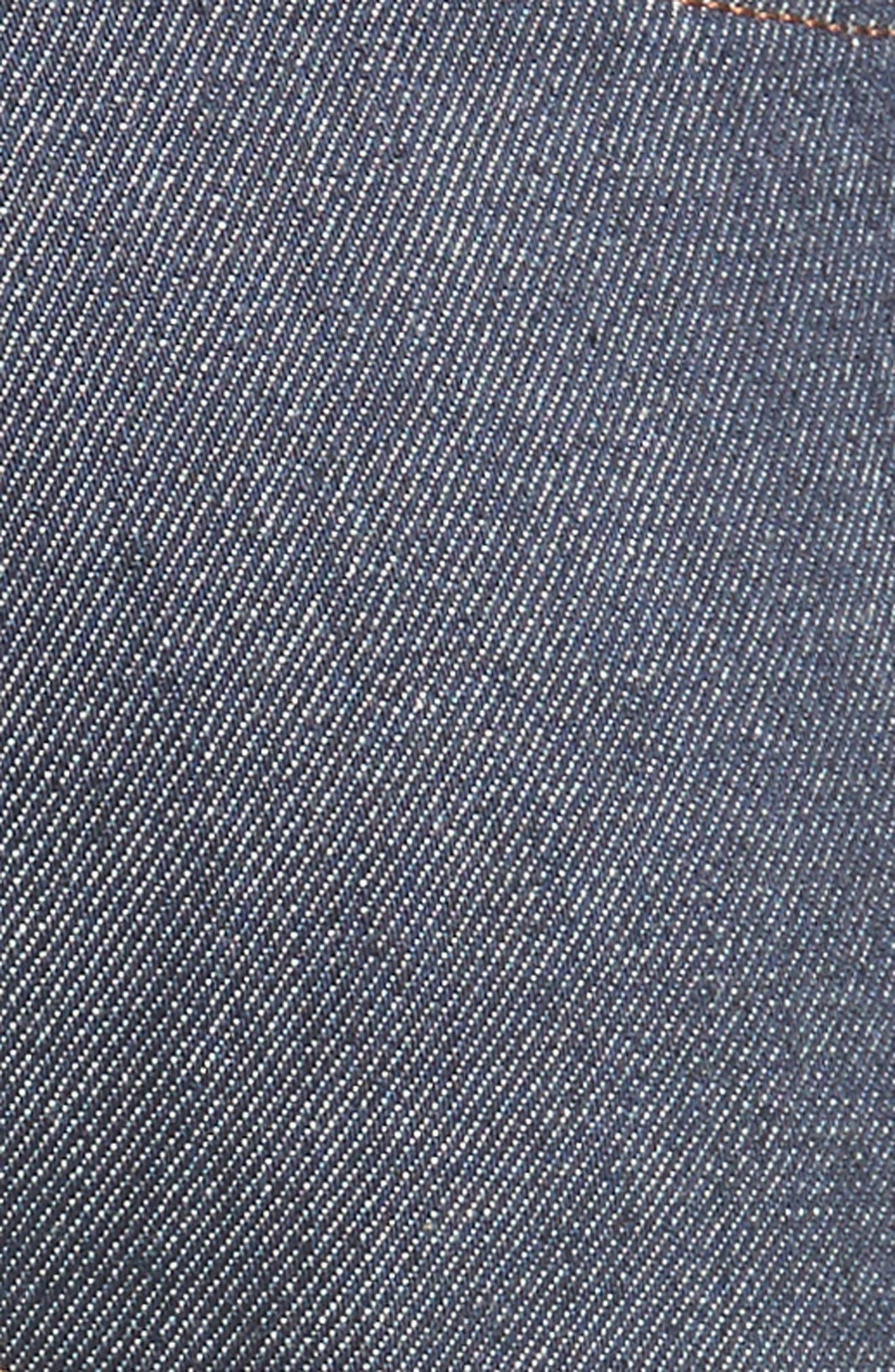 River Slim Tapered Leg Jeans,                             Alternate thumbnail 5, color,                             INDIGO