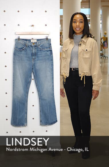 Western Crop Bootcut Jeans, sales video thumbnail