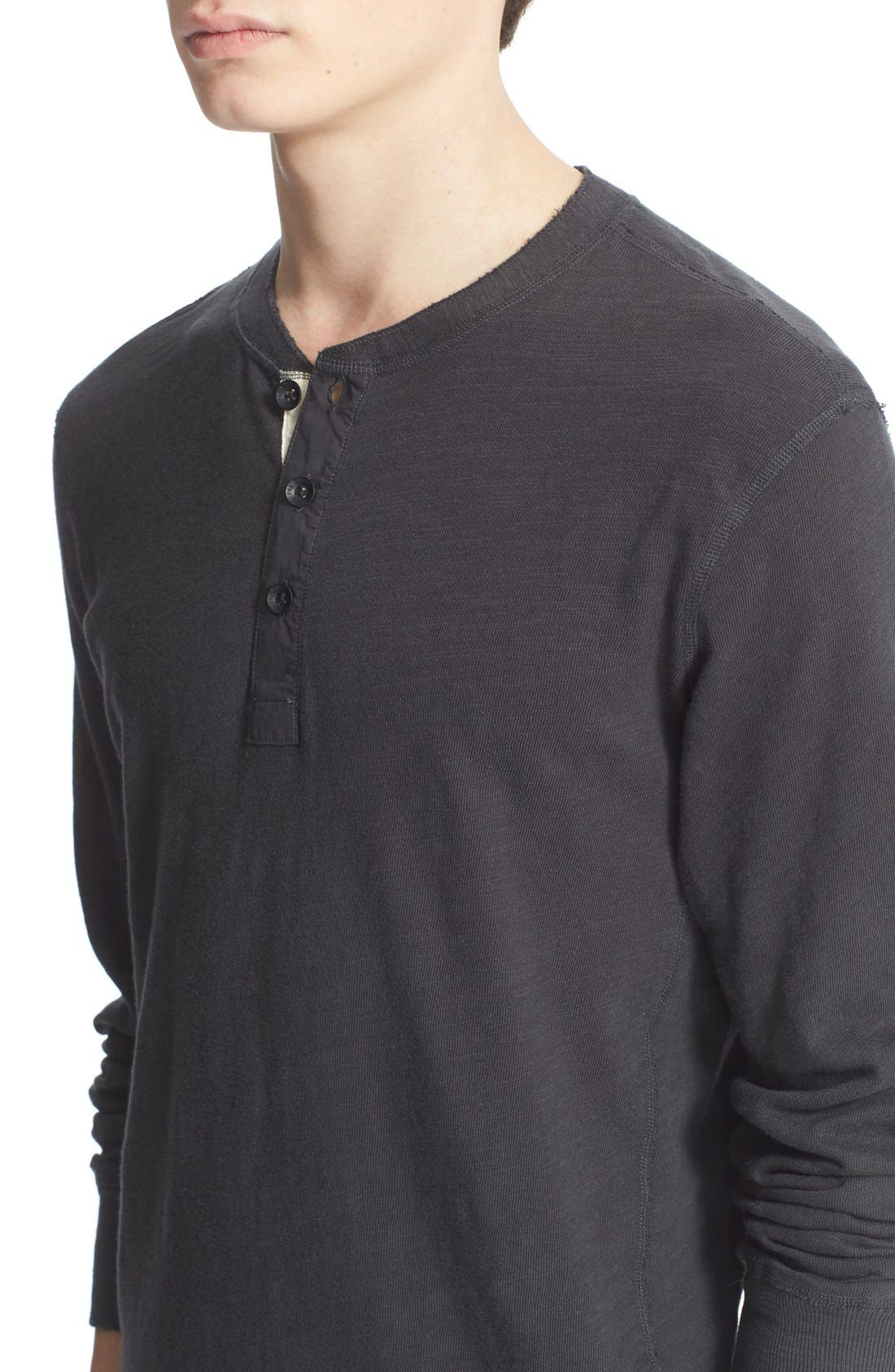Standard Issue Slub Cotton Henley,                             Alternate thumbnail 46, color,