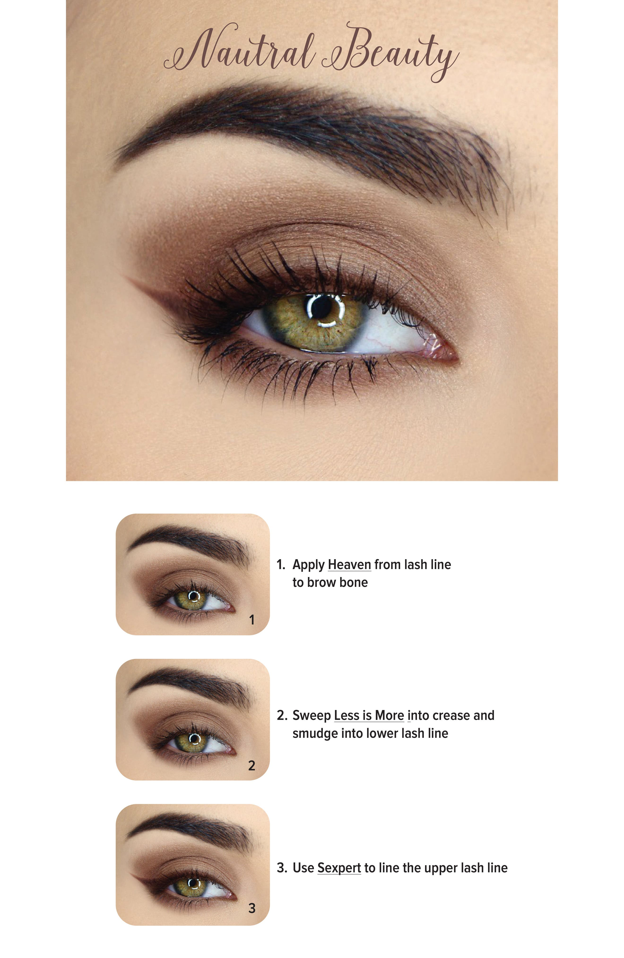 Natural Matte Eyeshadow Palette,                             Alternate thumbnail 8, color,                             NO COLOR