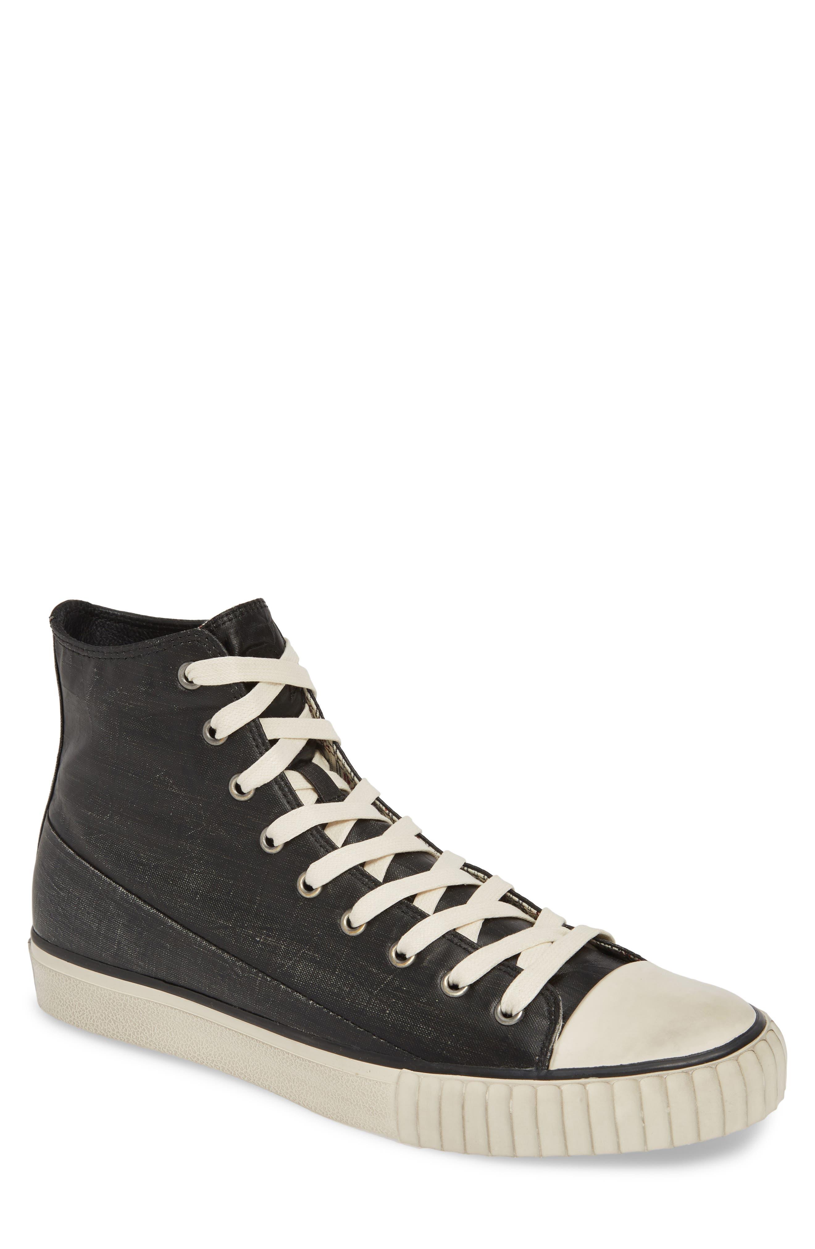 Bootleg By John Varvatos High Top Sneaker, Black