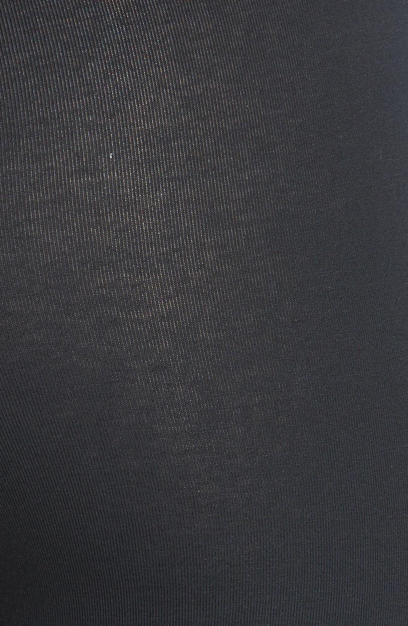 'Talia' Compact Cotton Blend Capris,                             Alternate thumbnail 3, color,                             001