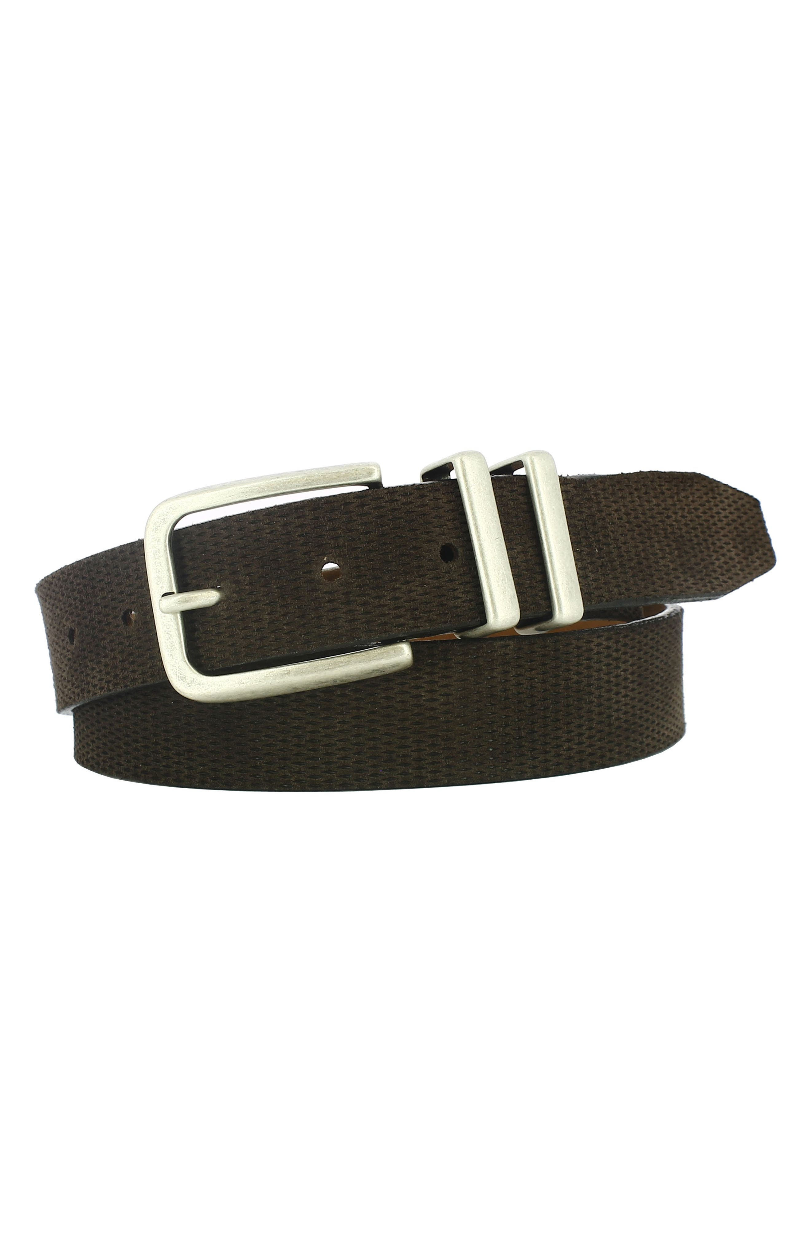 Axel Textured Leather Belt,                             Main thumbnail 1, color,