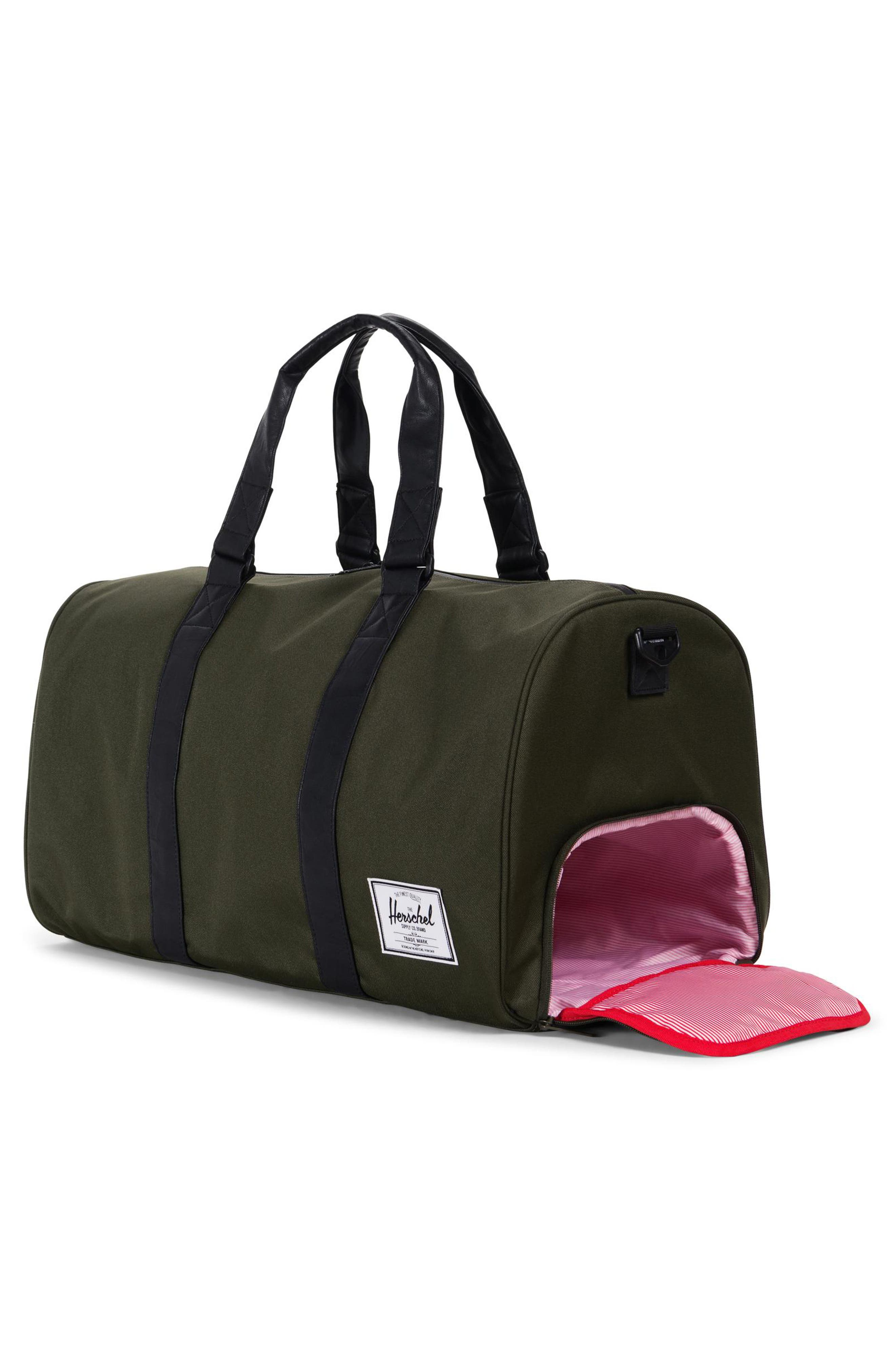 'Novel' Duffel Bag,                             Alternate thumbnail 3, color,                             300