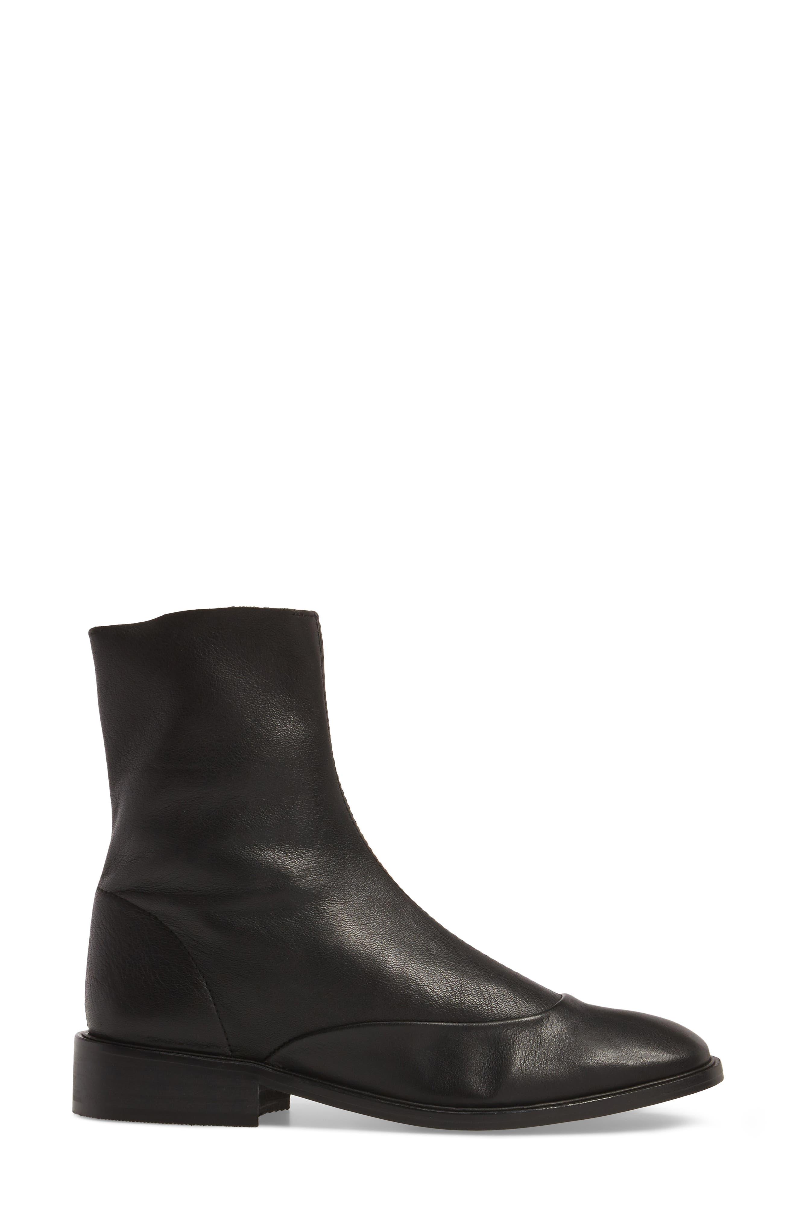 April Sock Boots,                             Alternate thumbnail 3, color,                             001