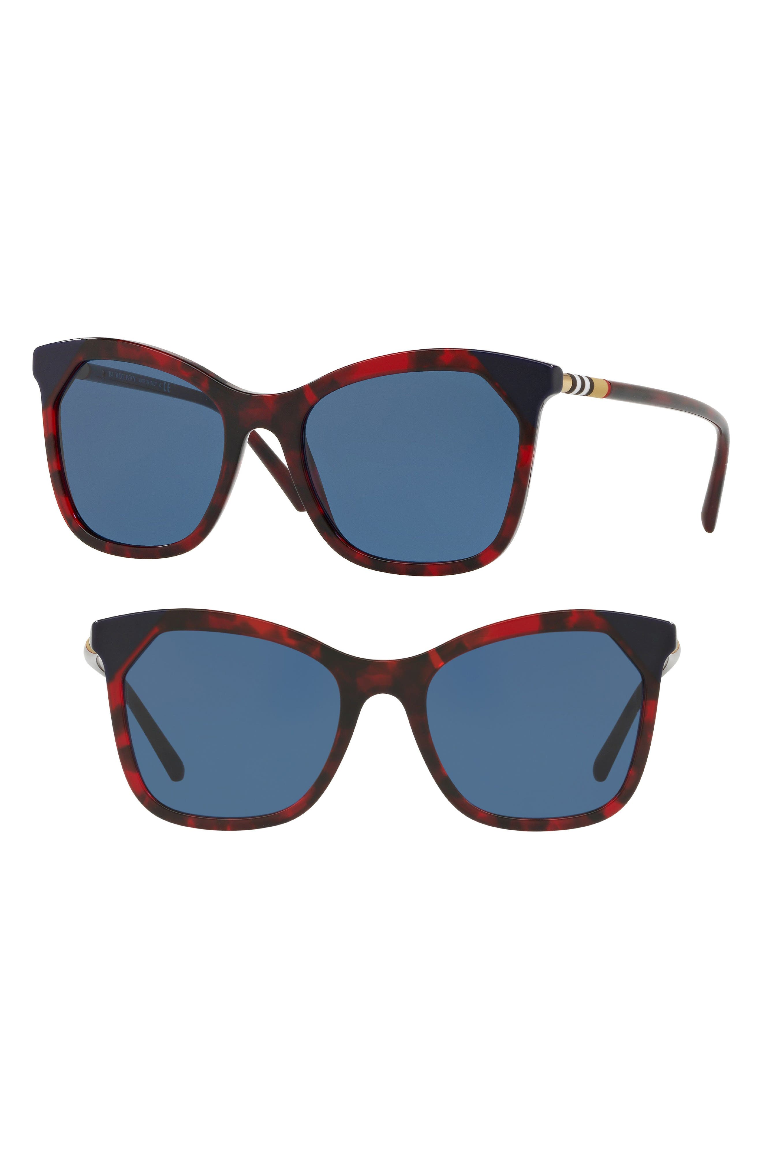 Heritage 54mm Square Sunglasses,                             Main thumbnail 5, color,