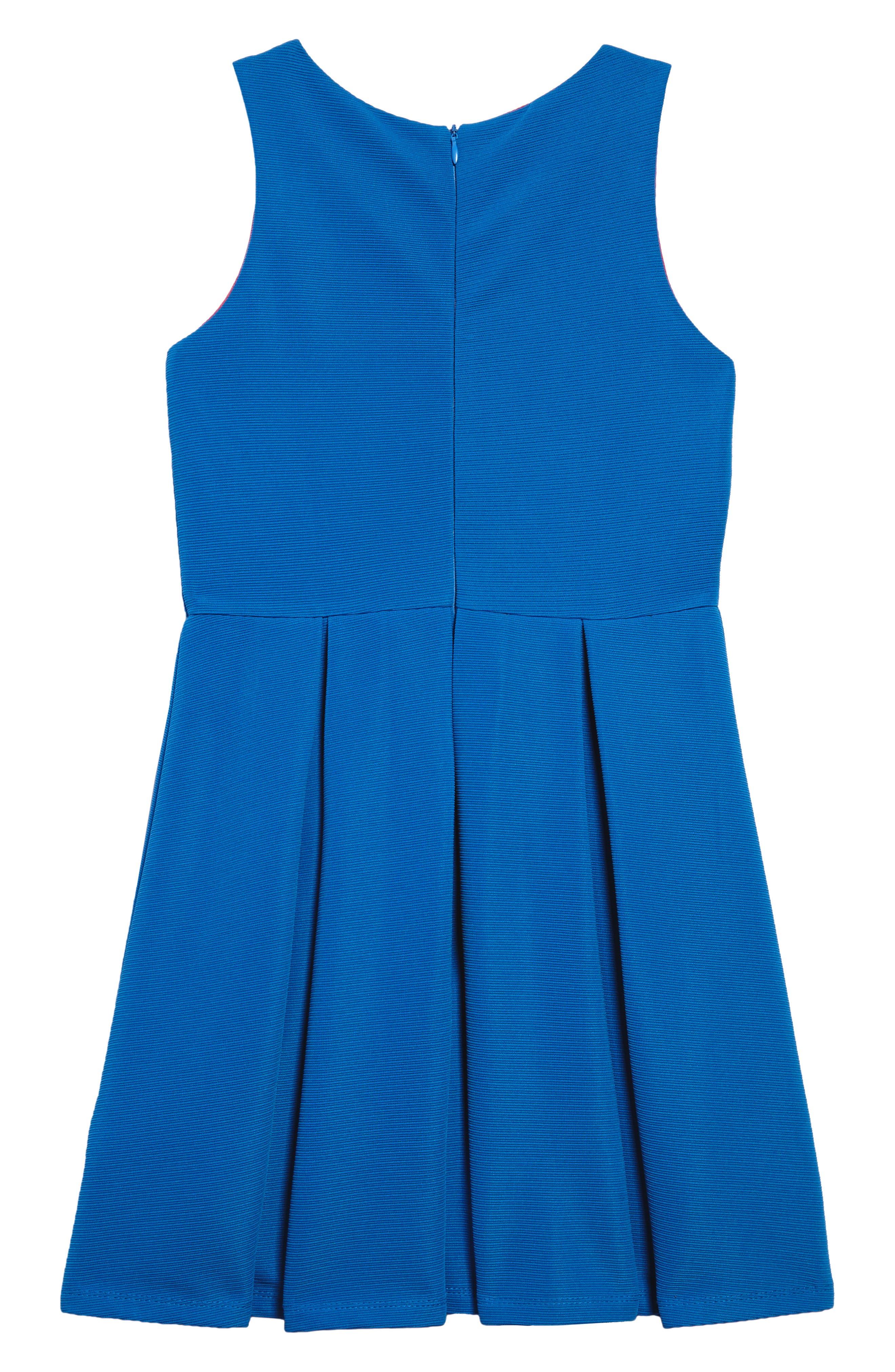 Pleated Dress,                             Alternate thumbnail 2, color,                             434