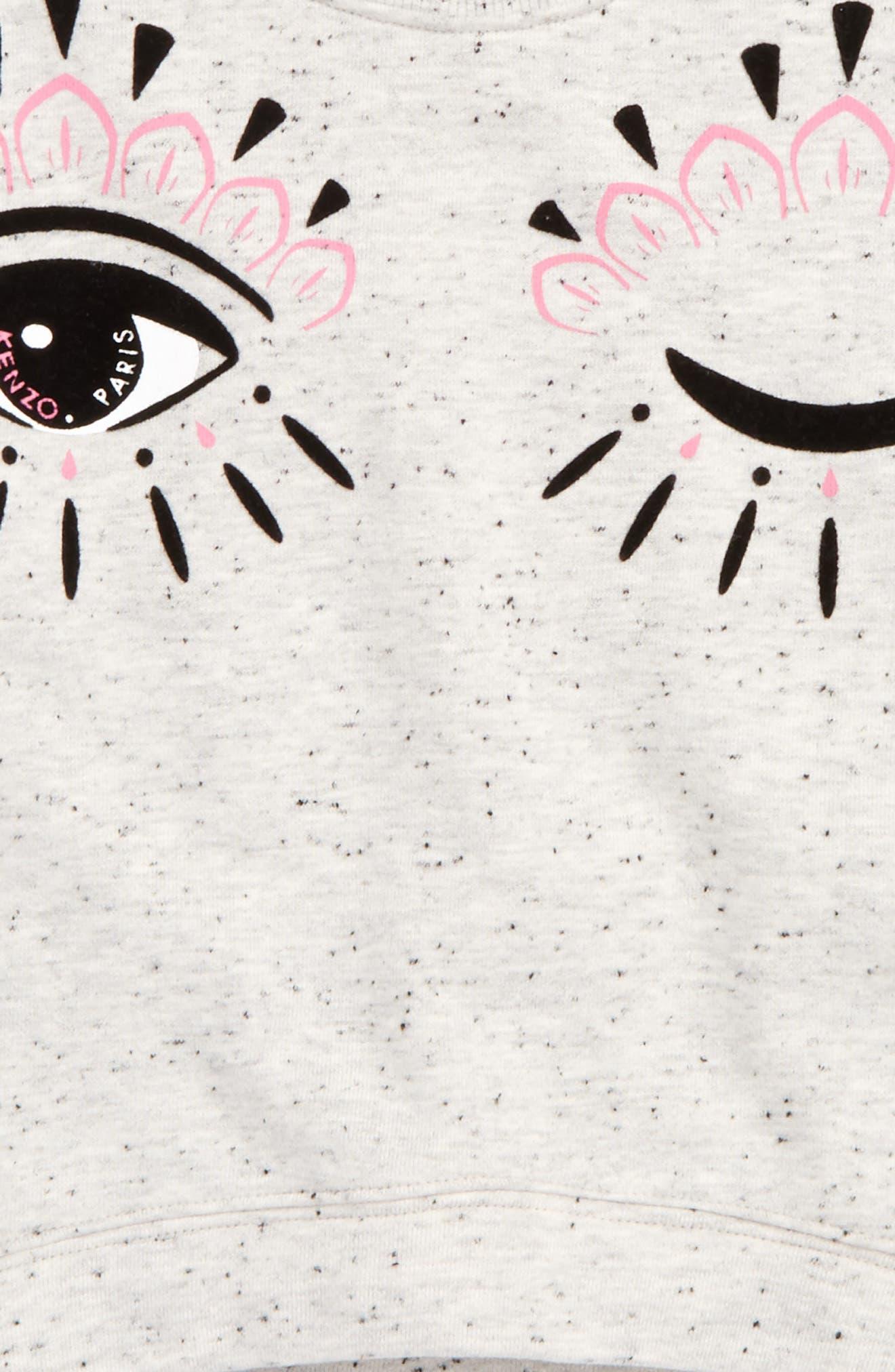 Blinking Eye Sweatshirt,                             Alternate thumbnail 2, color,                             030