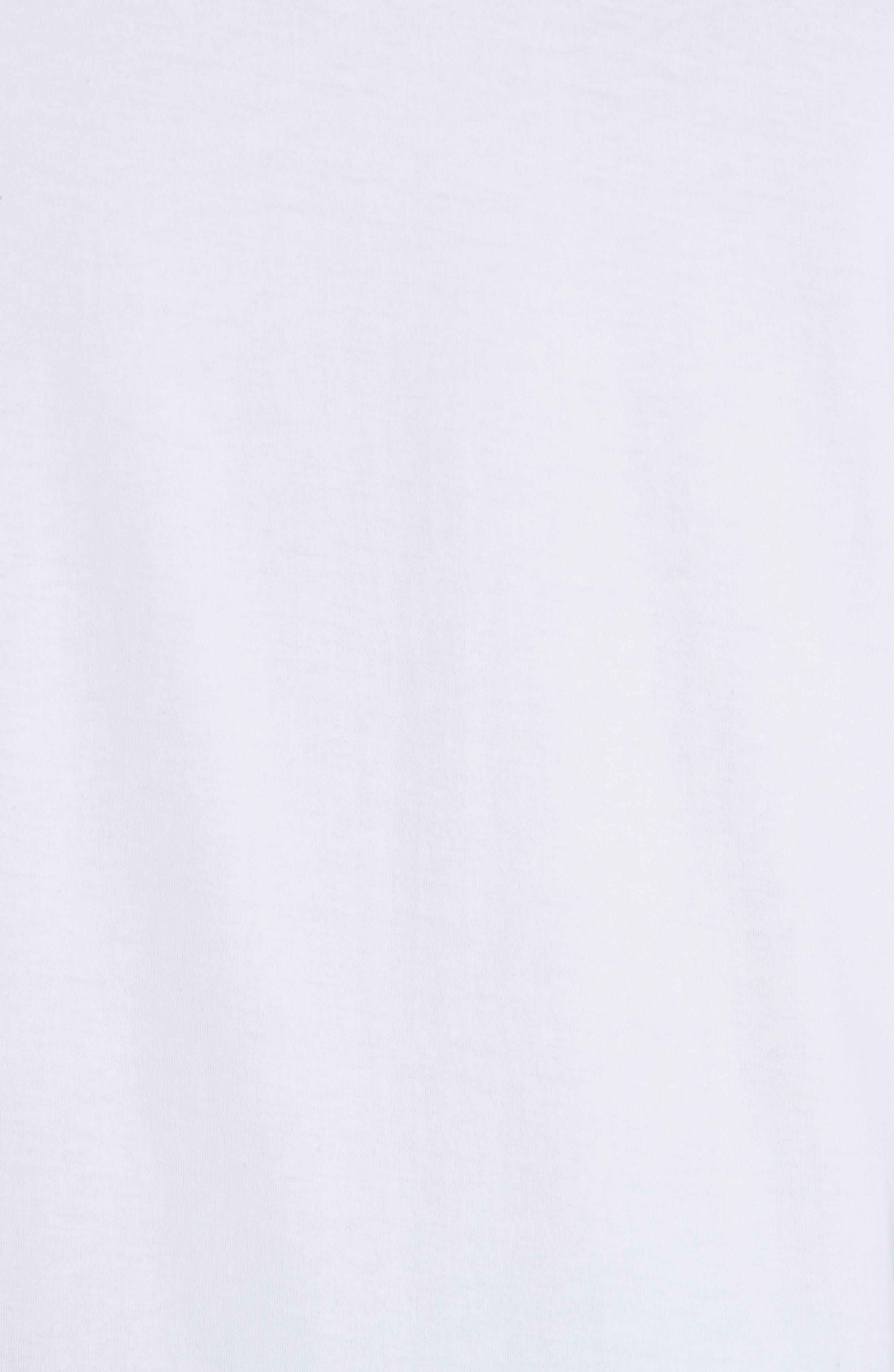 Foil T-Shirt,                             Alternate thumbnail 5, color,                             WHITE