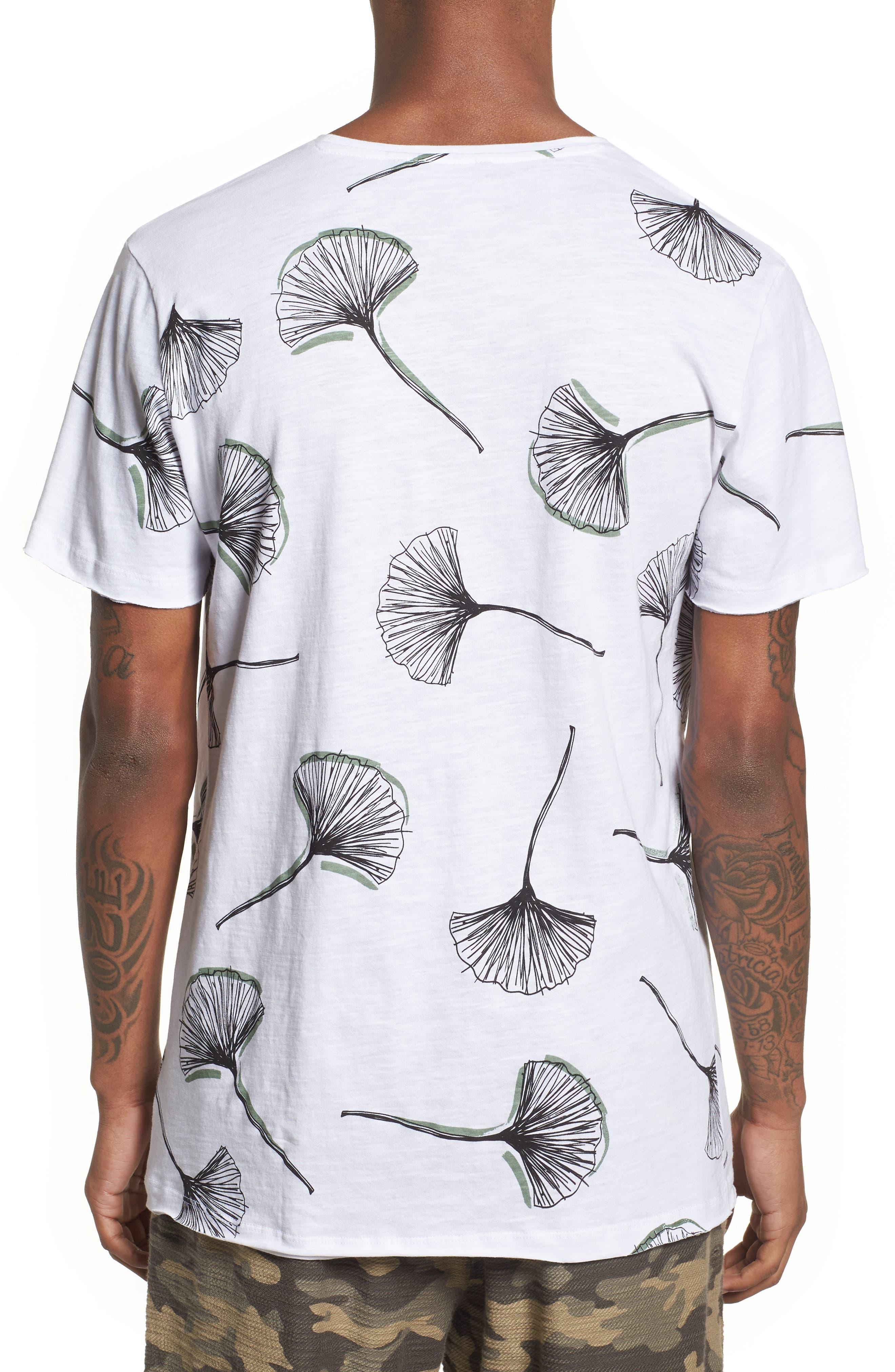 Allover Print T-Shirt,                             Alternate thumbnail 2, color,                             100