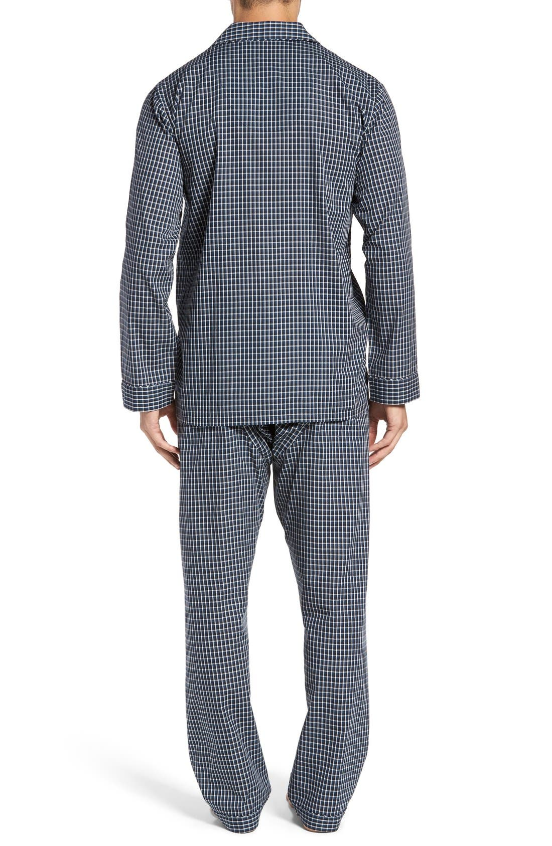 'CVC' Cotton Blend Pajamas,                             Alternate thumbnail 2, color,                             001