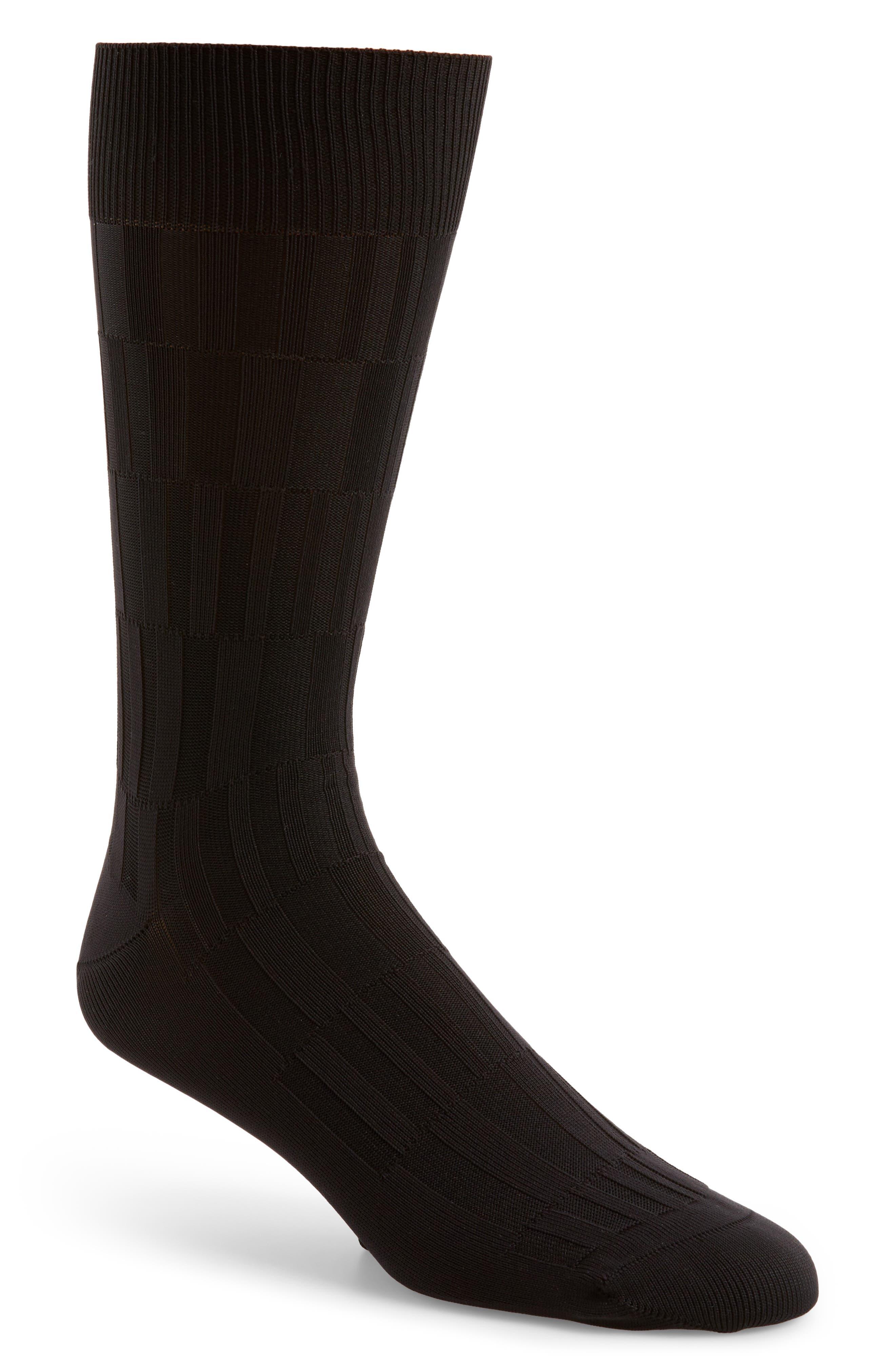 Bar Texture Socks,                         Main,                         color, 001
