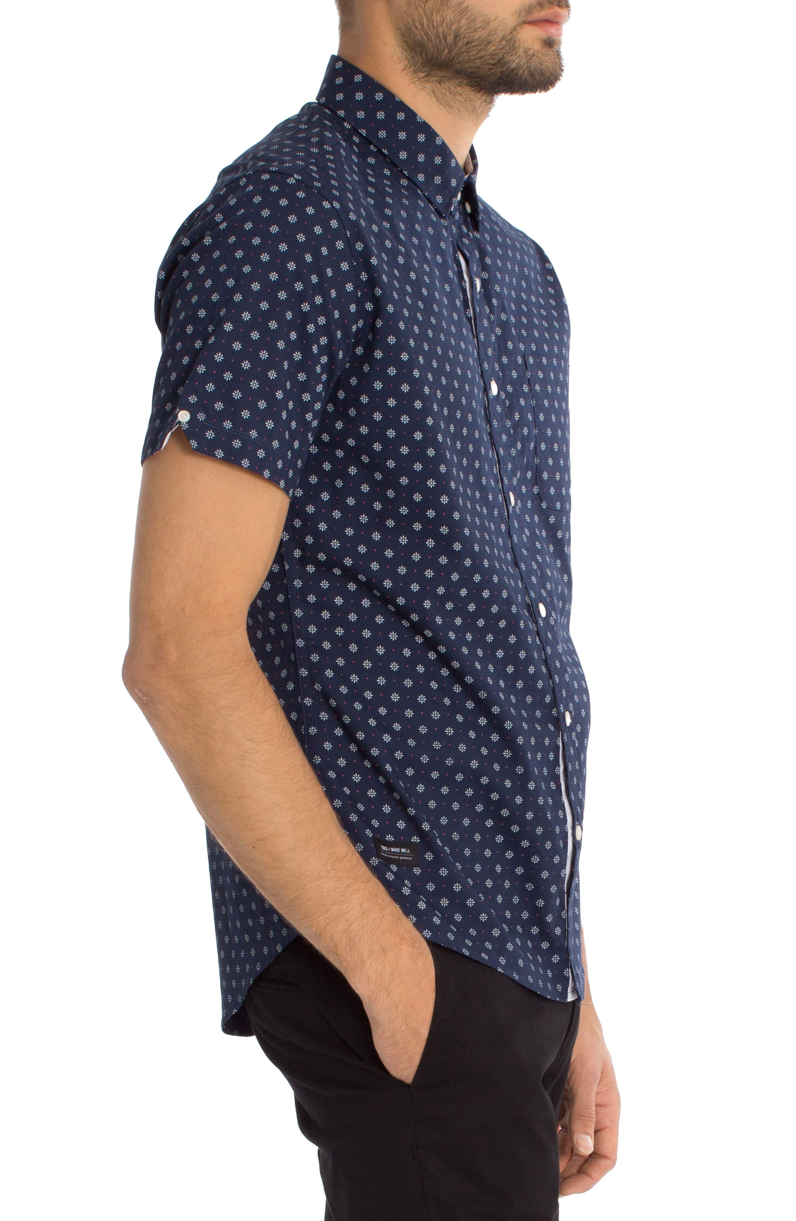 Overflow Woven Shirt,                             Alternate thumbnail 6, color,