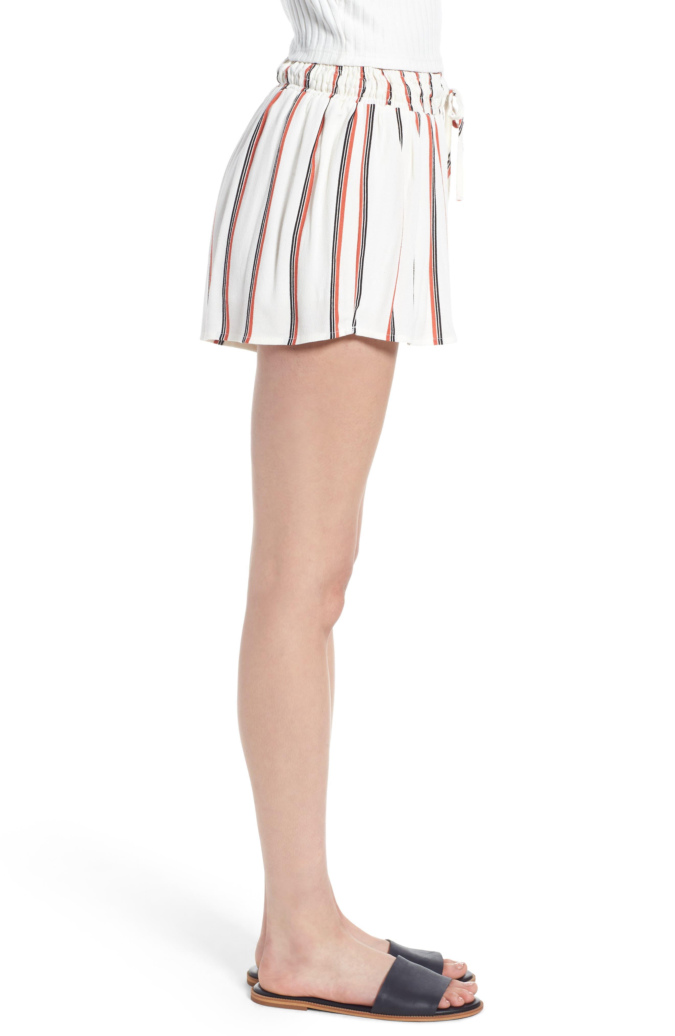 Juniper Stripe Shorts,                             Alternate thumbnail 6, color,