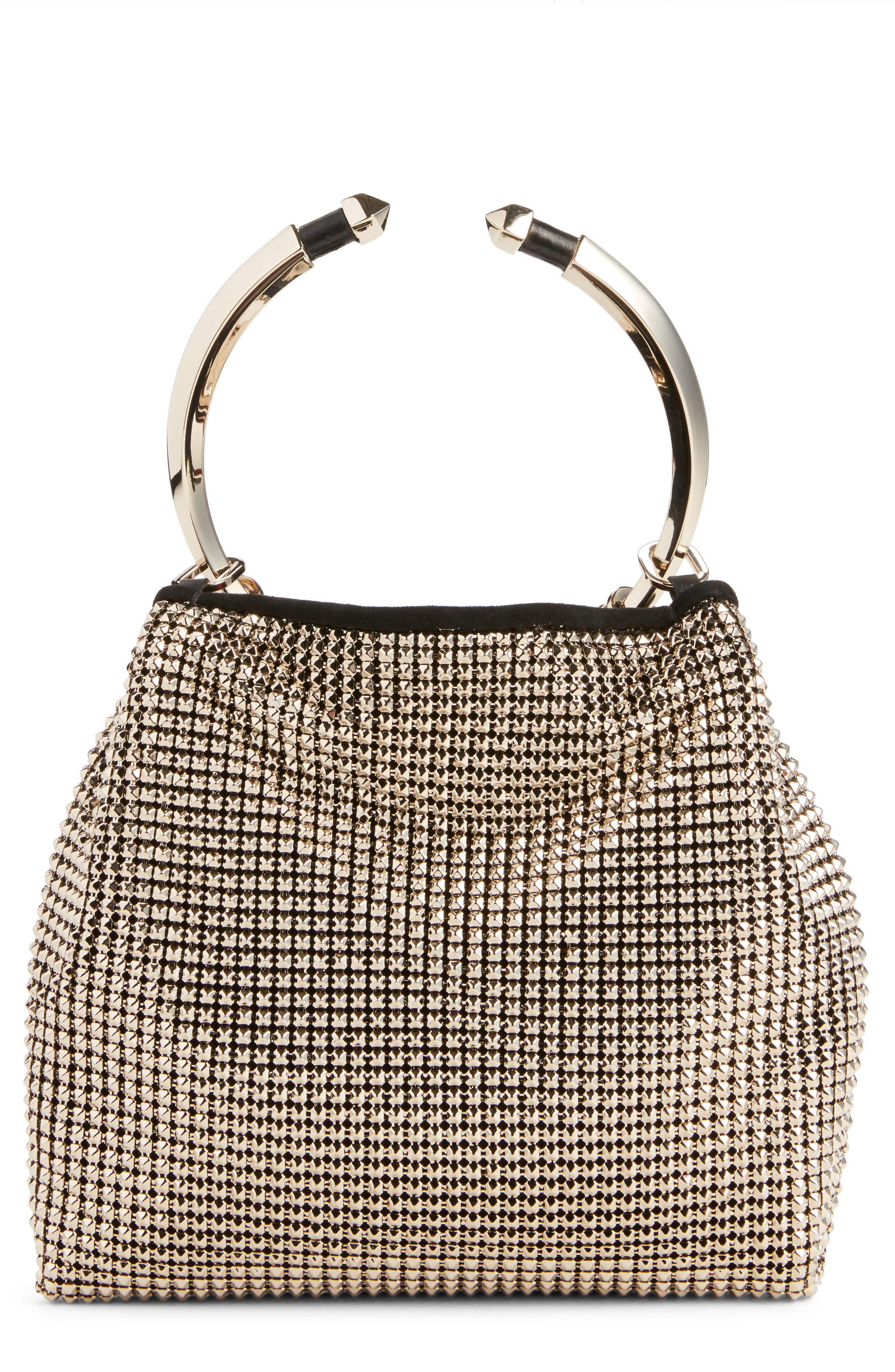 Ring Mesh Clutch,                             Alternate thumbnail 3, color,                             112