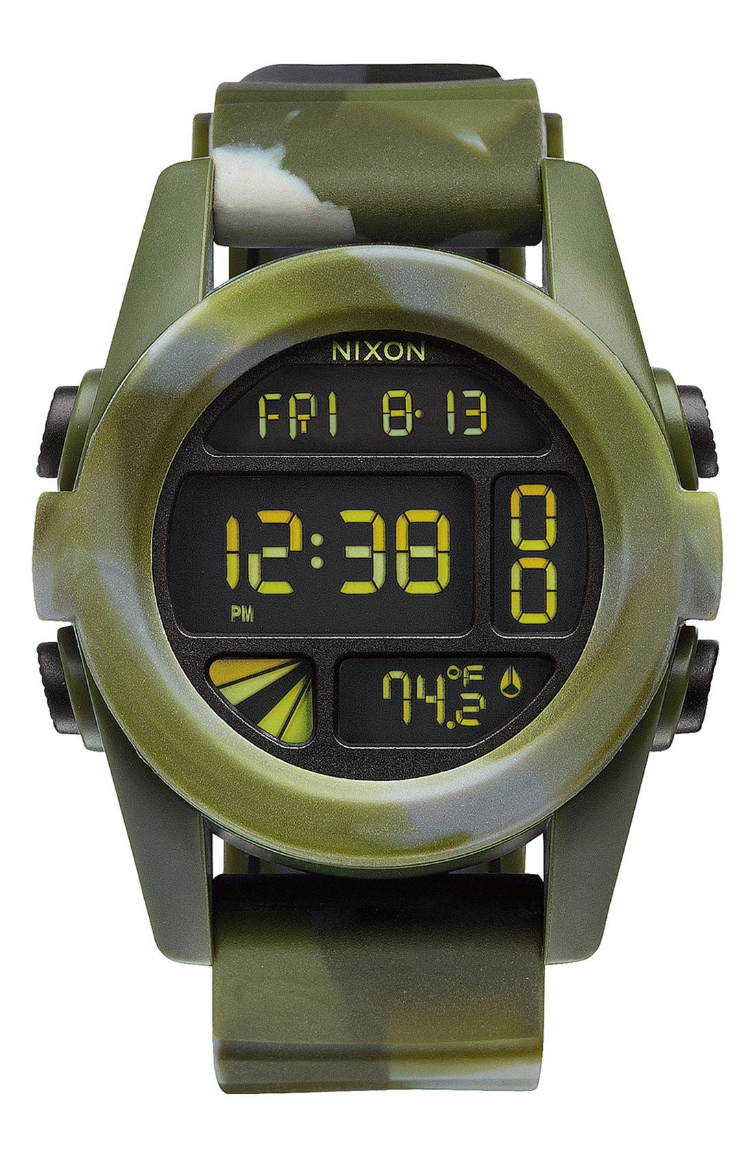 'The Unit' Round Digital Watch, 44mm,                             Main thumbnail 9, color,