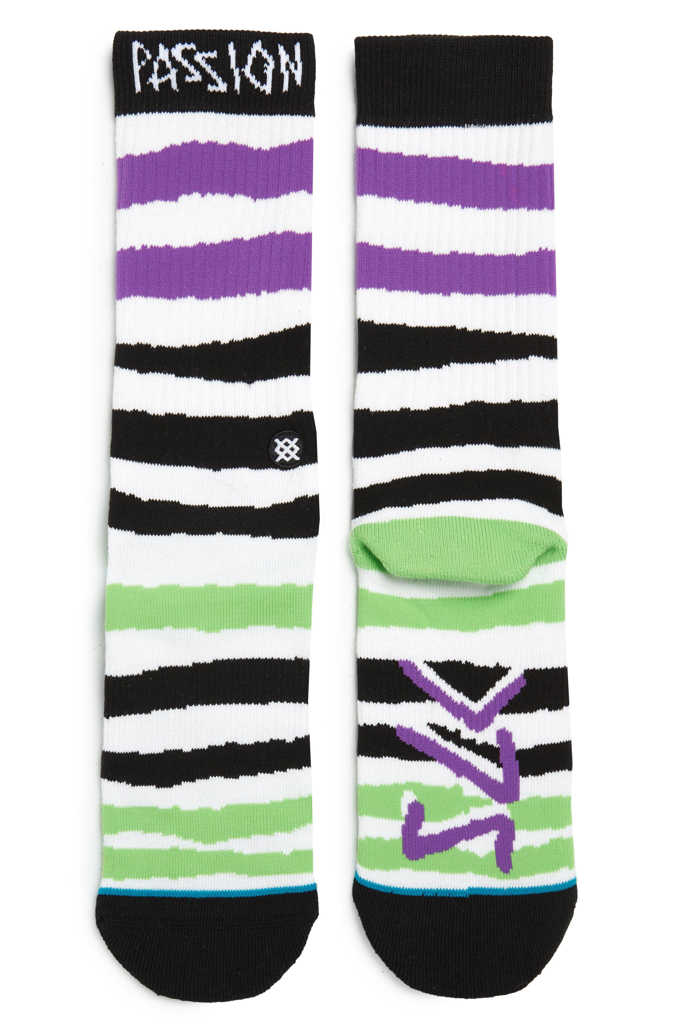 STANCE Passion LK Socks, Main, color, 001