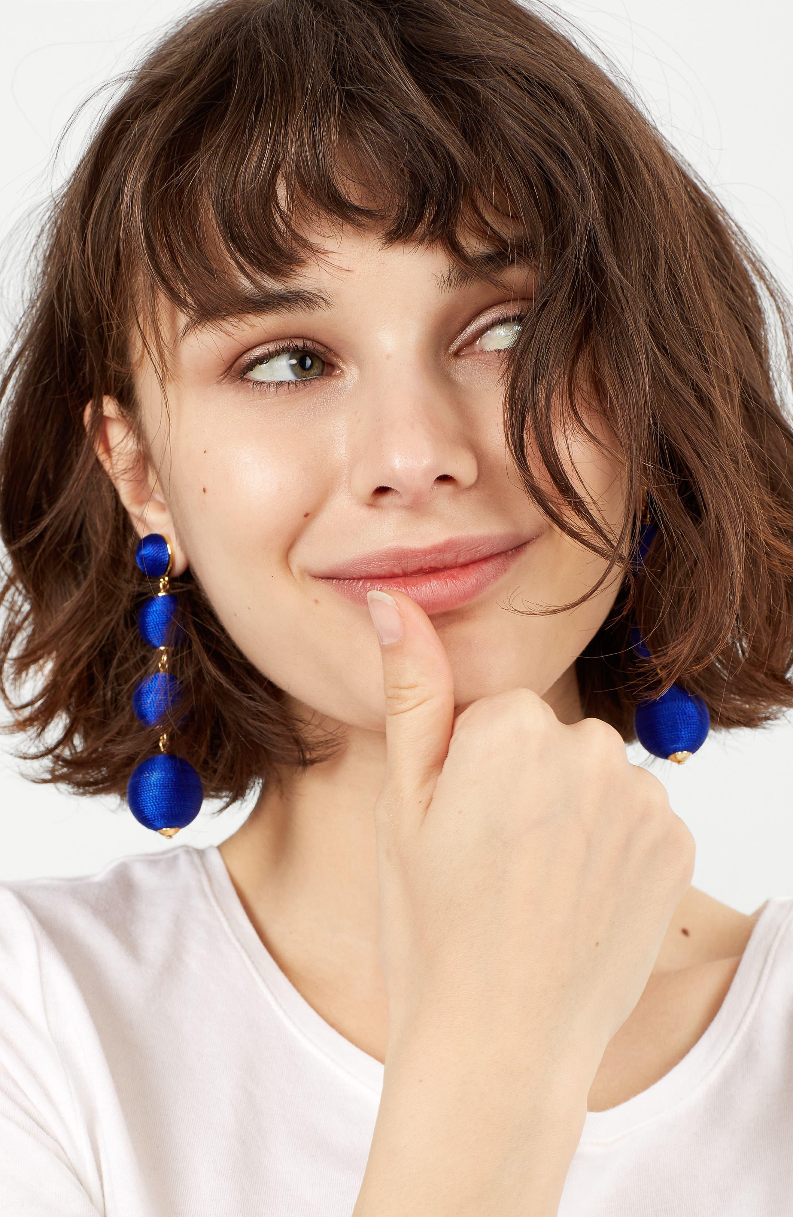 Criselda Ball Shoulder Duster Earrings,                             Alternate thumbnail 20, color,