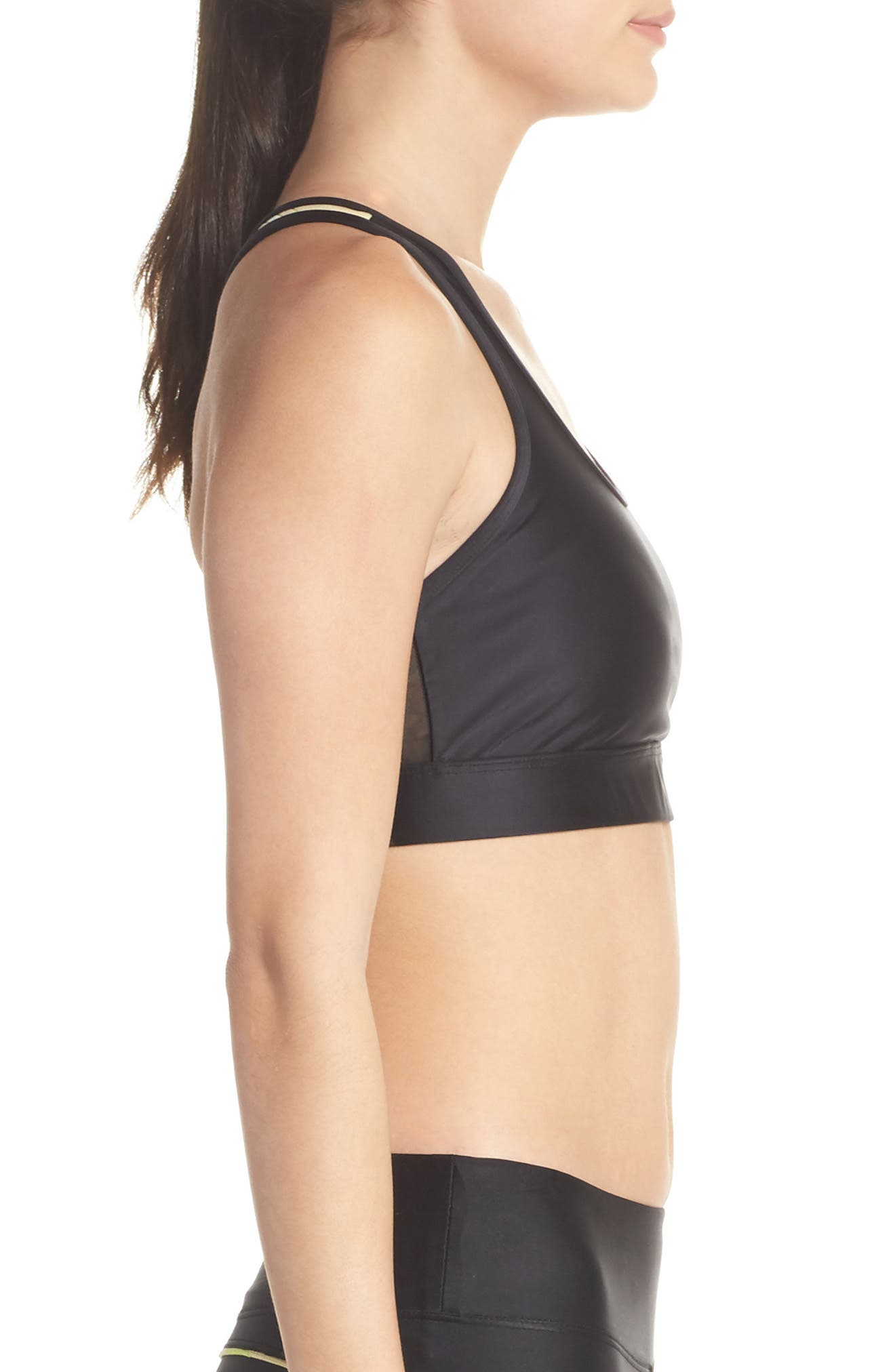 Posture Sports Bra,                             Alternate thumbnail 3, color,                             001