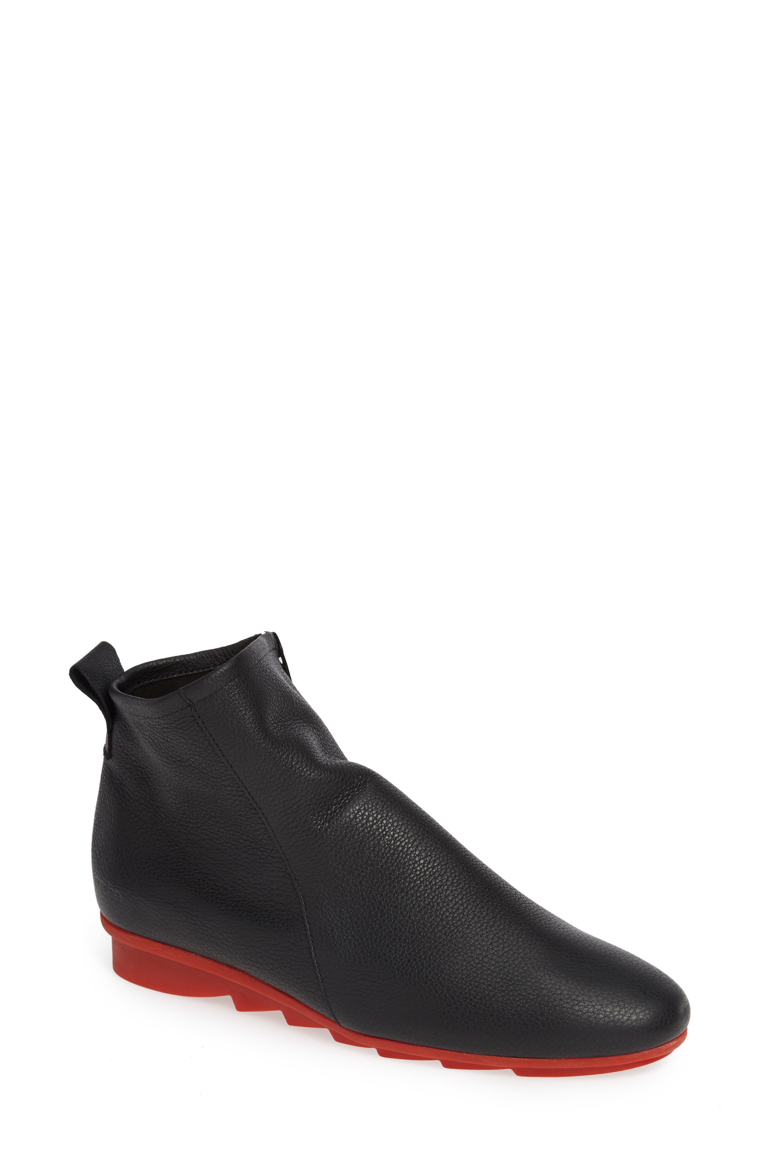 ARCHE Bibiki Water Resistant Bootie in Truffe/ Micas Nubuck Leather
