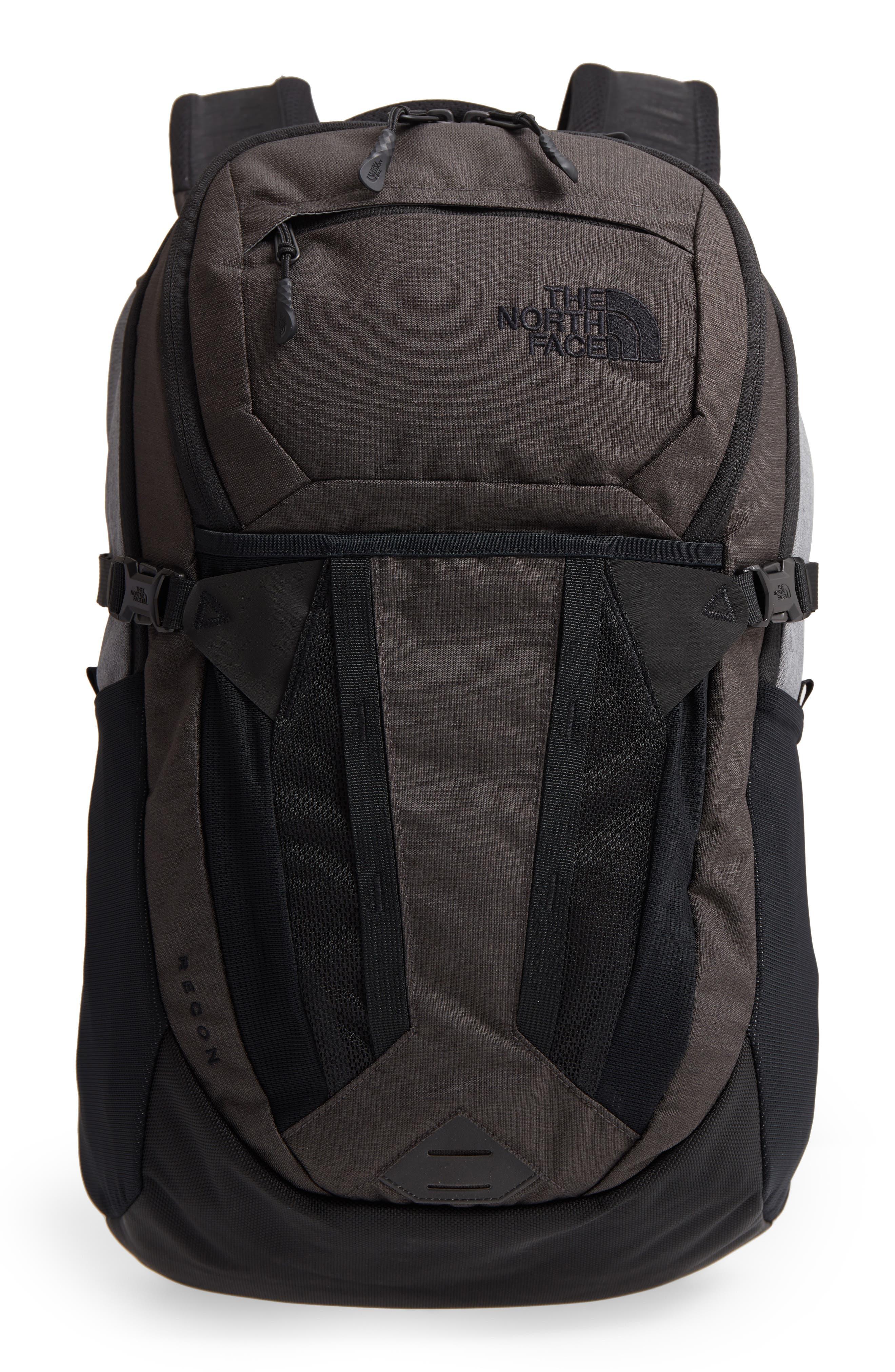 Recon Backpack,                         Main,                         color, DARK GREY HEATHER