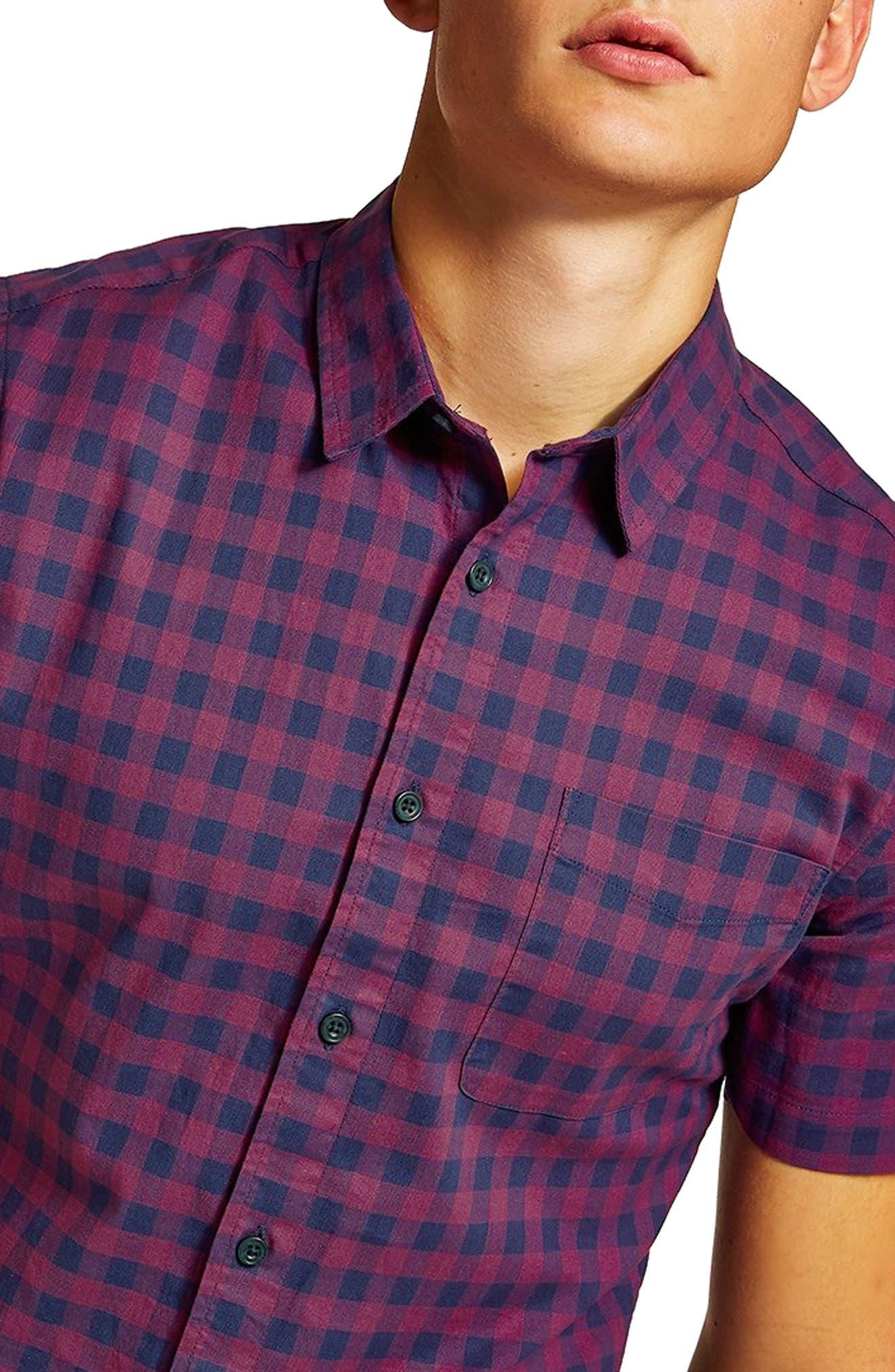 Gingham Shirt,                             Alternate thumbnail 2, color,                             400
