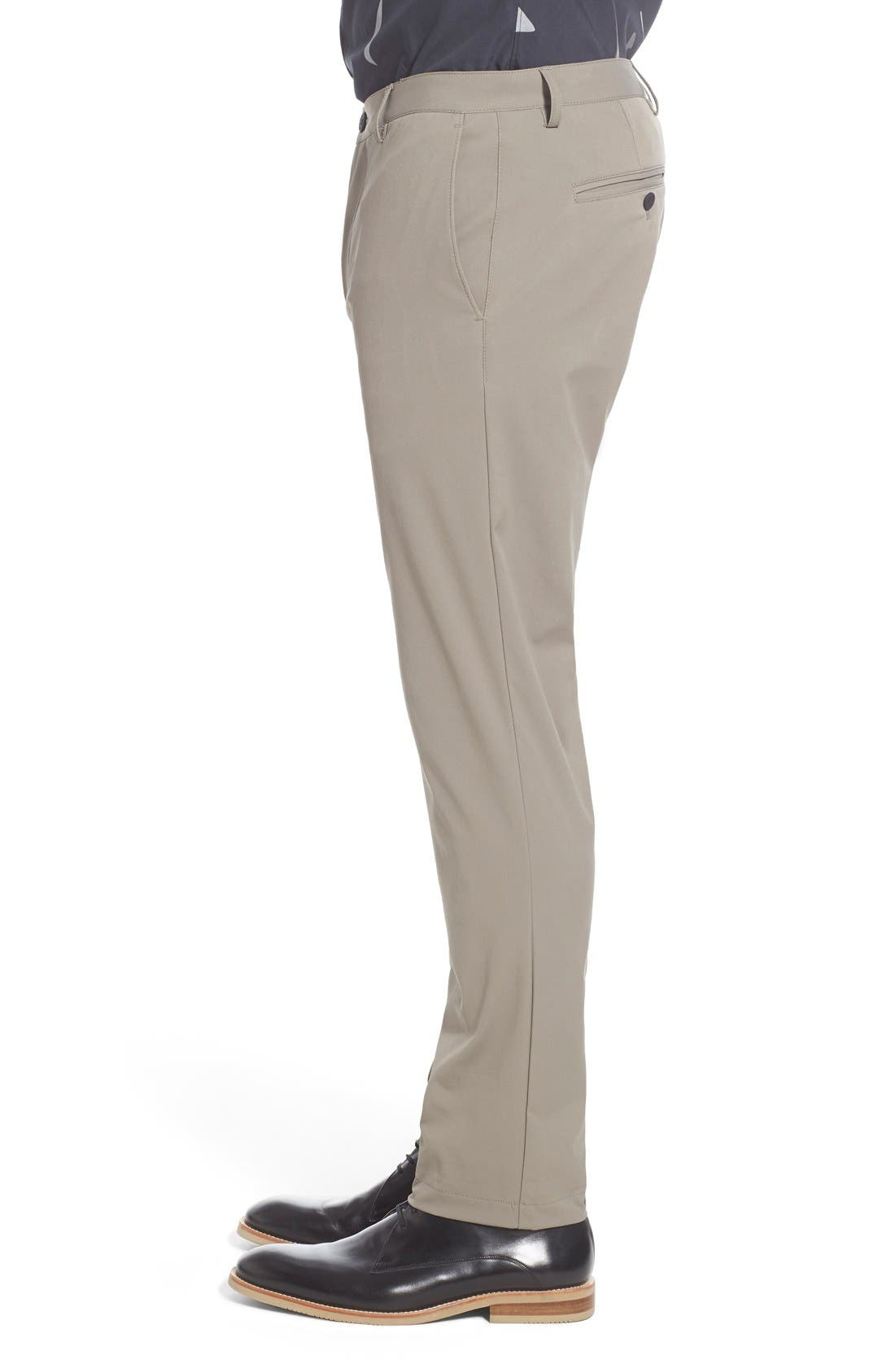 'Zaine Neoteric' Slim Fit Pants,                             Alternate thumbnail 5, color,                             SIDEWALK