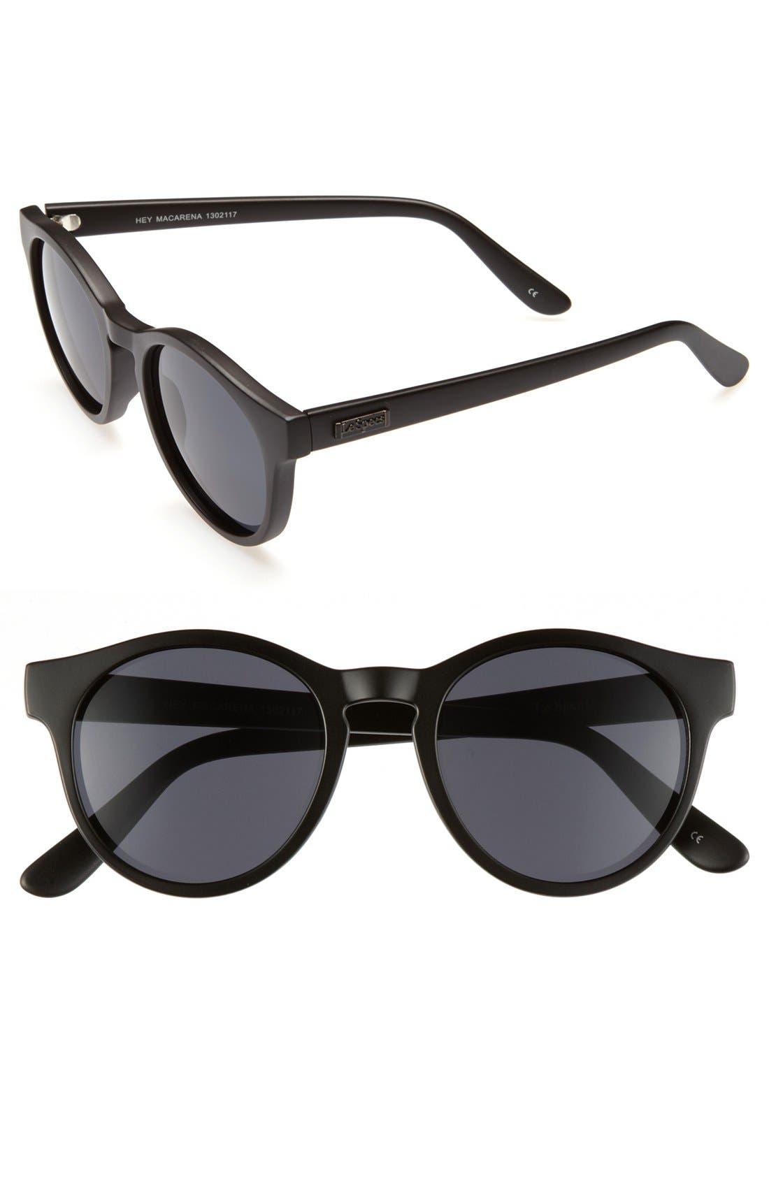 'Hey Macarena' Sunglasses,                             Main thumbnail 1, color,                             001