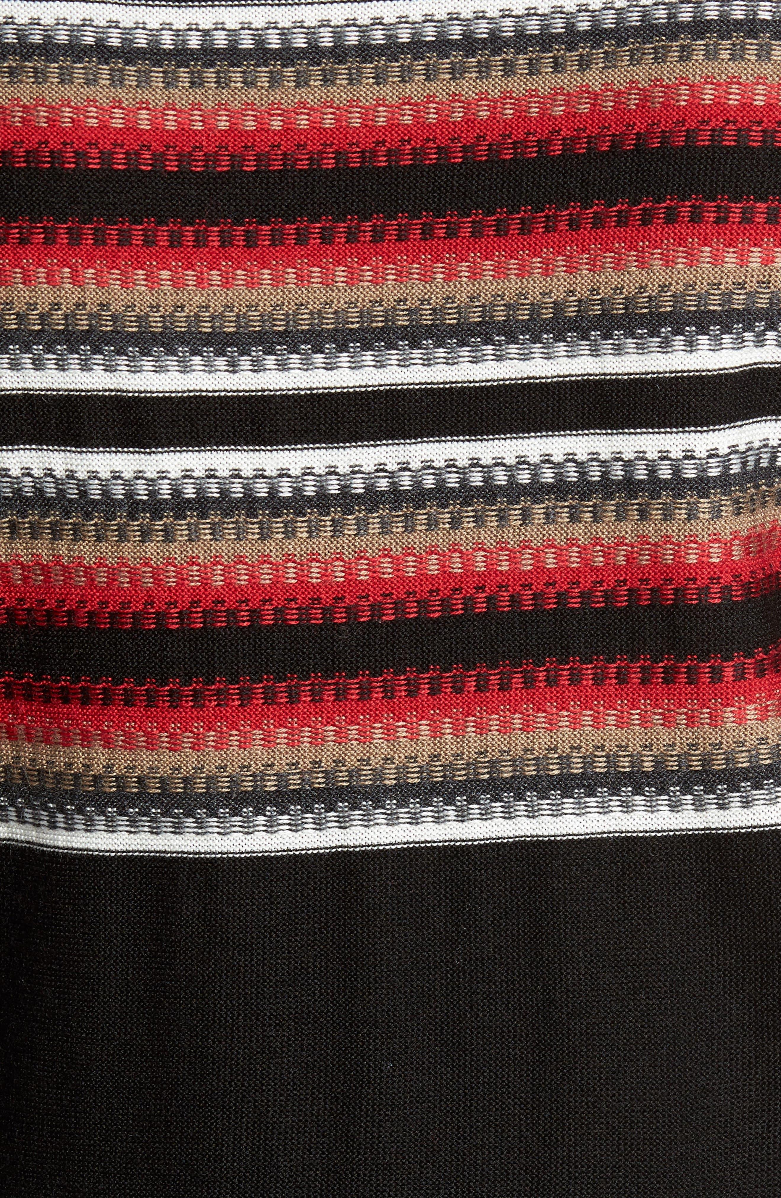 Stripe Sweater,                             Alternate thumbnail 5, color,                             001