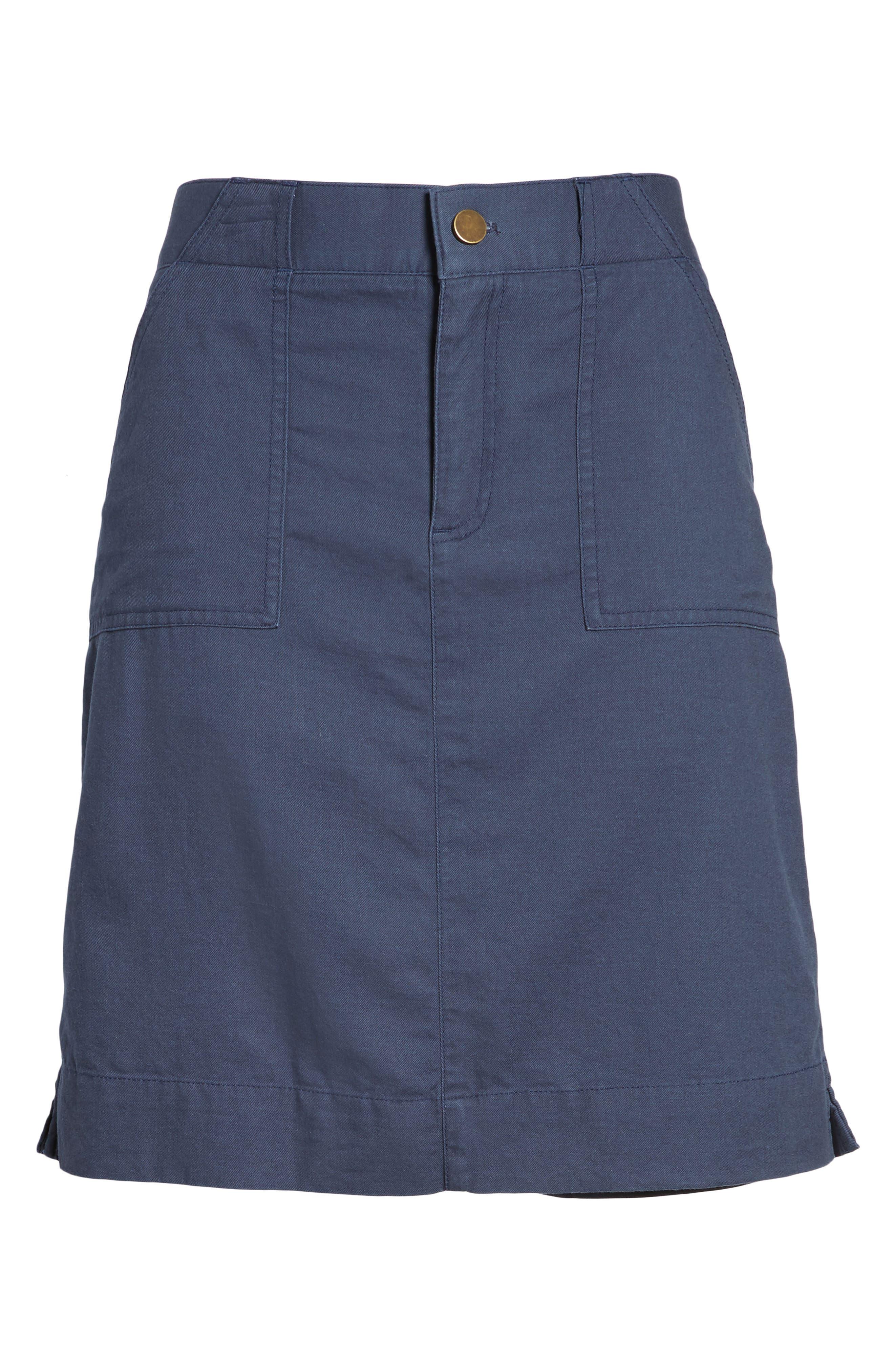Twill Utility Skirt,                             Alternate thumbnail 12, color,