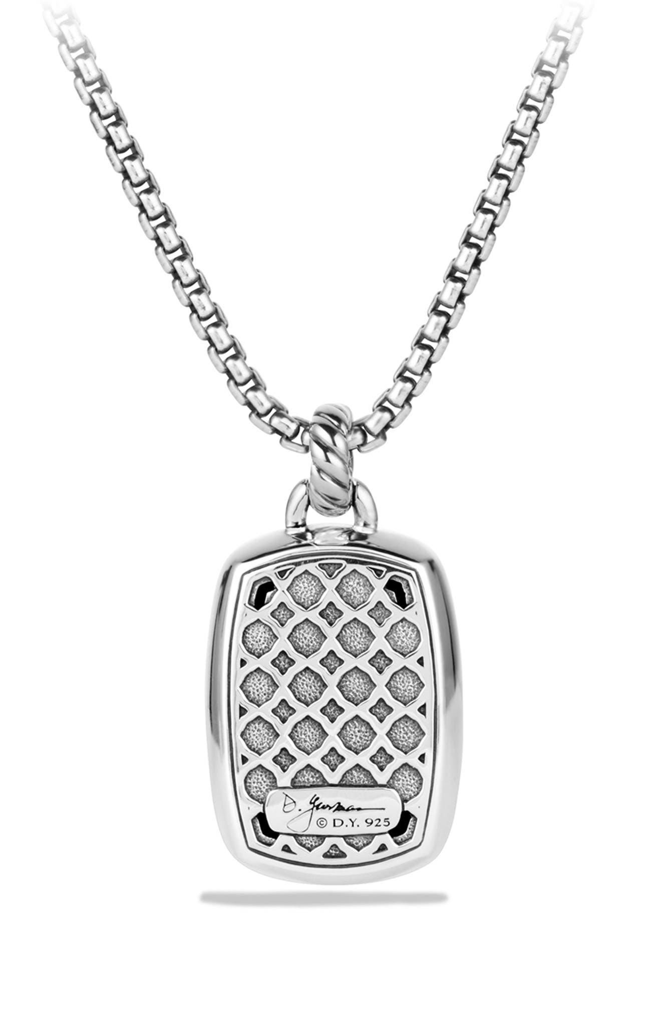 'Albion' Pendant with Semiprecious Stone and Diamonds,                             Alternate thumbnail 8, color,