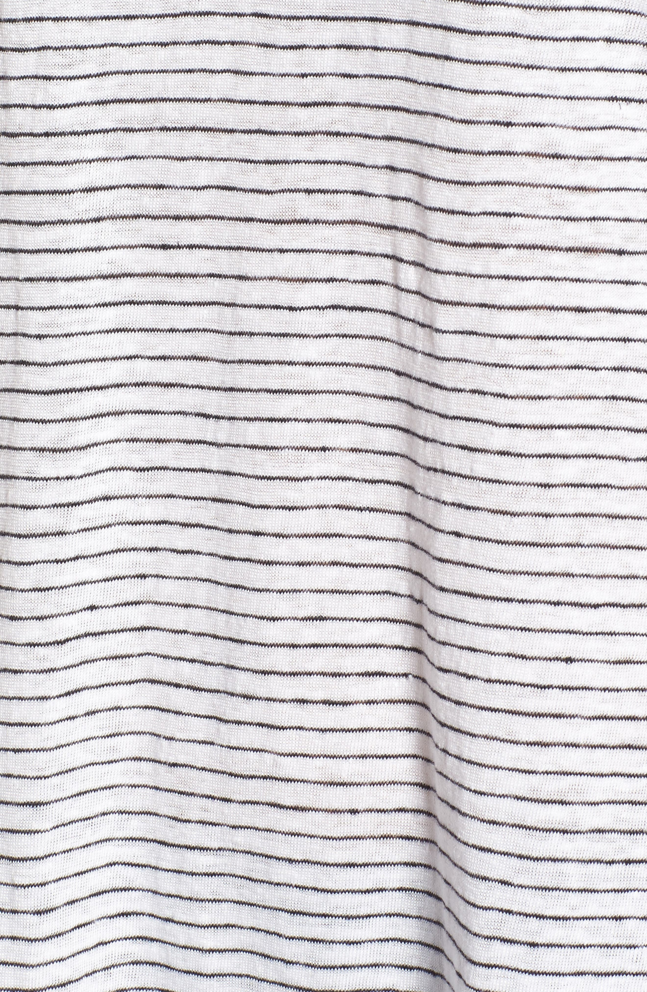 Organic Linen Tunic,                             Alternate thumbnail 5, color,                             120