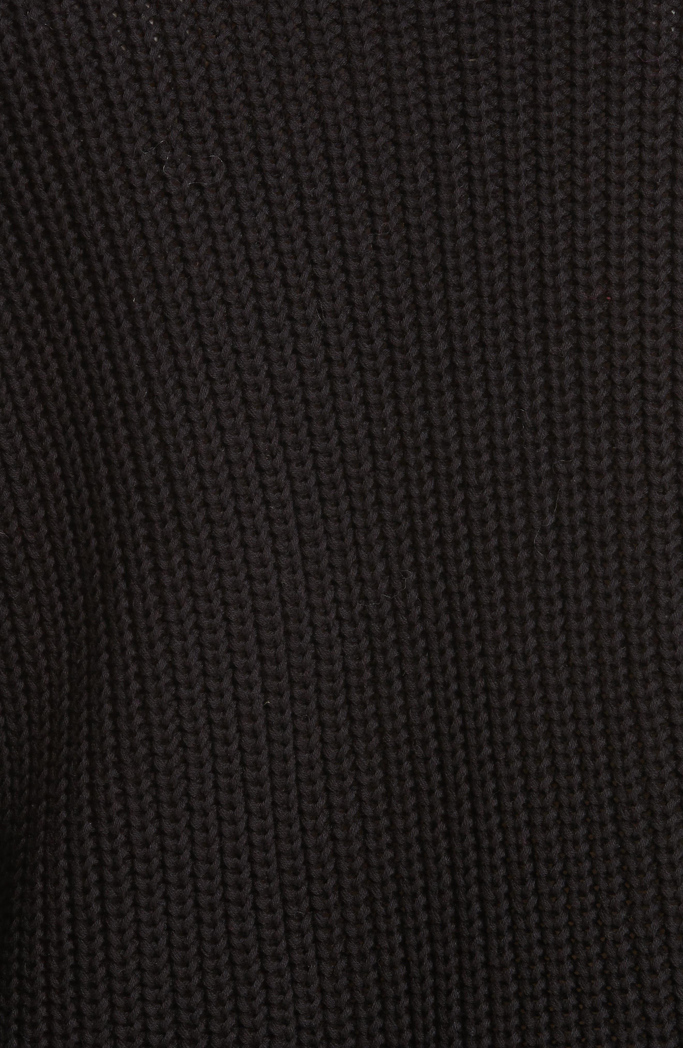Damsel Bell Sleeve Pullover,                             Alternate thumbnail 5, color,                             001