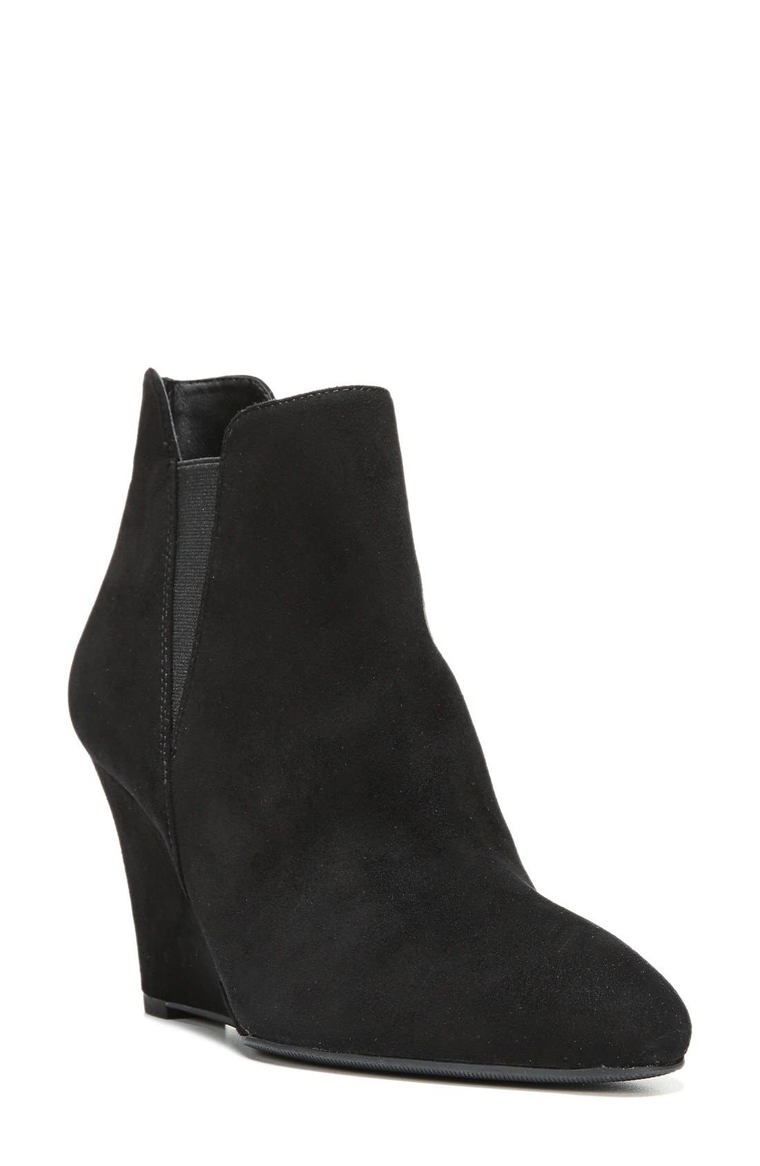 'Kenzie' Wedge Bootie,                             Main thumbnail 1, color,                             002